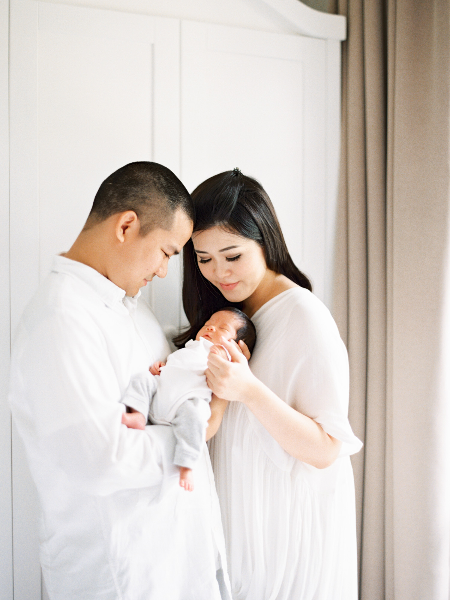 newborn baby girl film photography styling jakarta