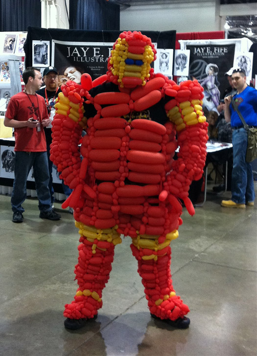 Balloon Iron-Man
