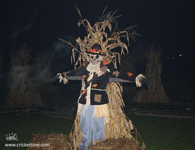 Greenfield Village Halloween Scarecrow