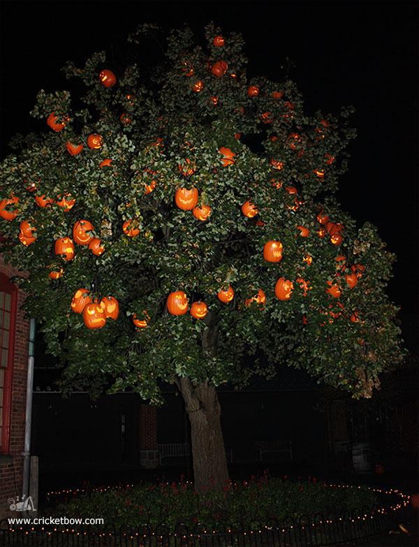 Greenfield Village Halloween Tree