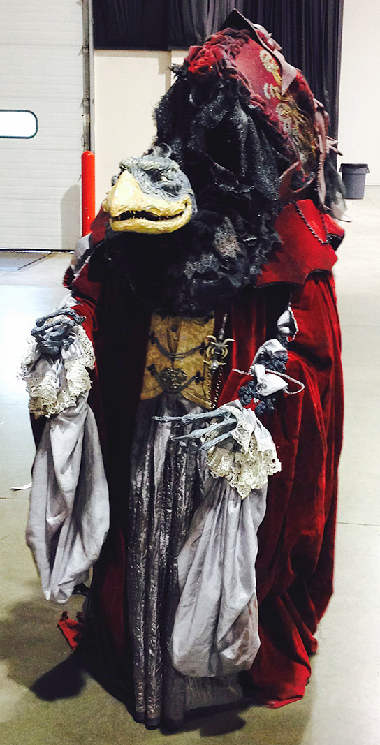 skeksis costume front