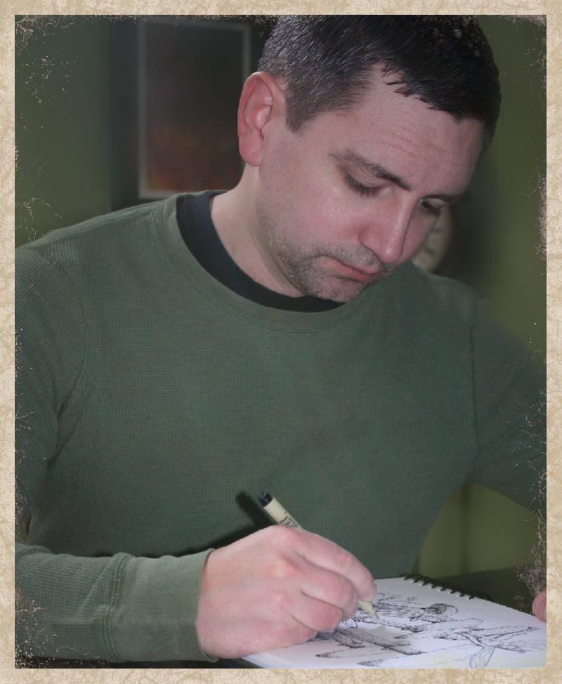 Tim drawing