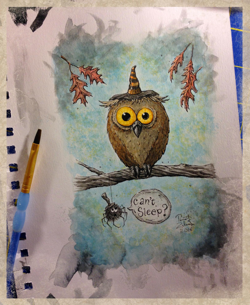 Watercolor_Owl_Painting