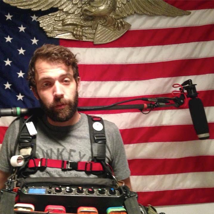 Jeff Gaumer  (Production Sound, Day 1)