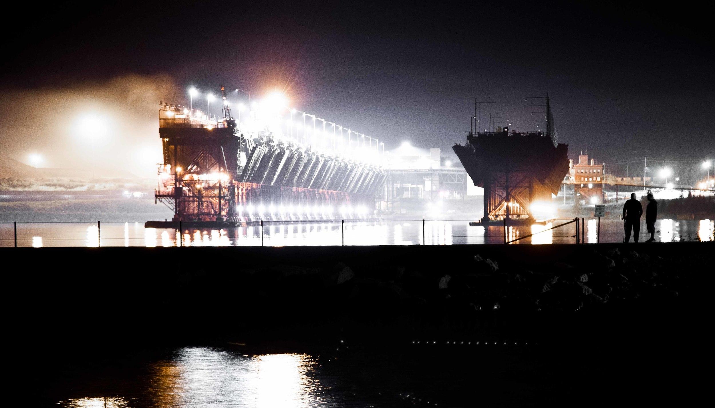 Twin Harbors Iron Ore Processing Facility.