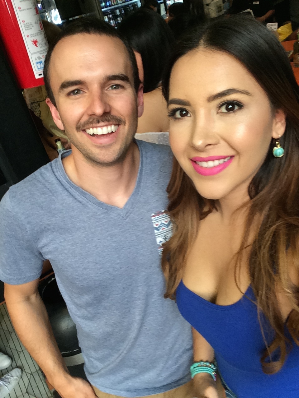 Aly Villegas and I after the morning shoot in Mexico City. My Mexican mustache game could use some upgrades.