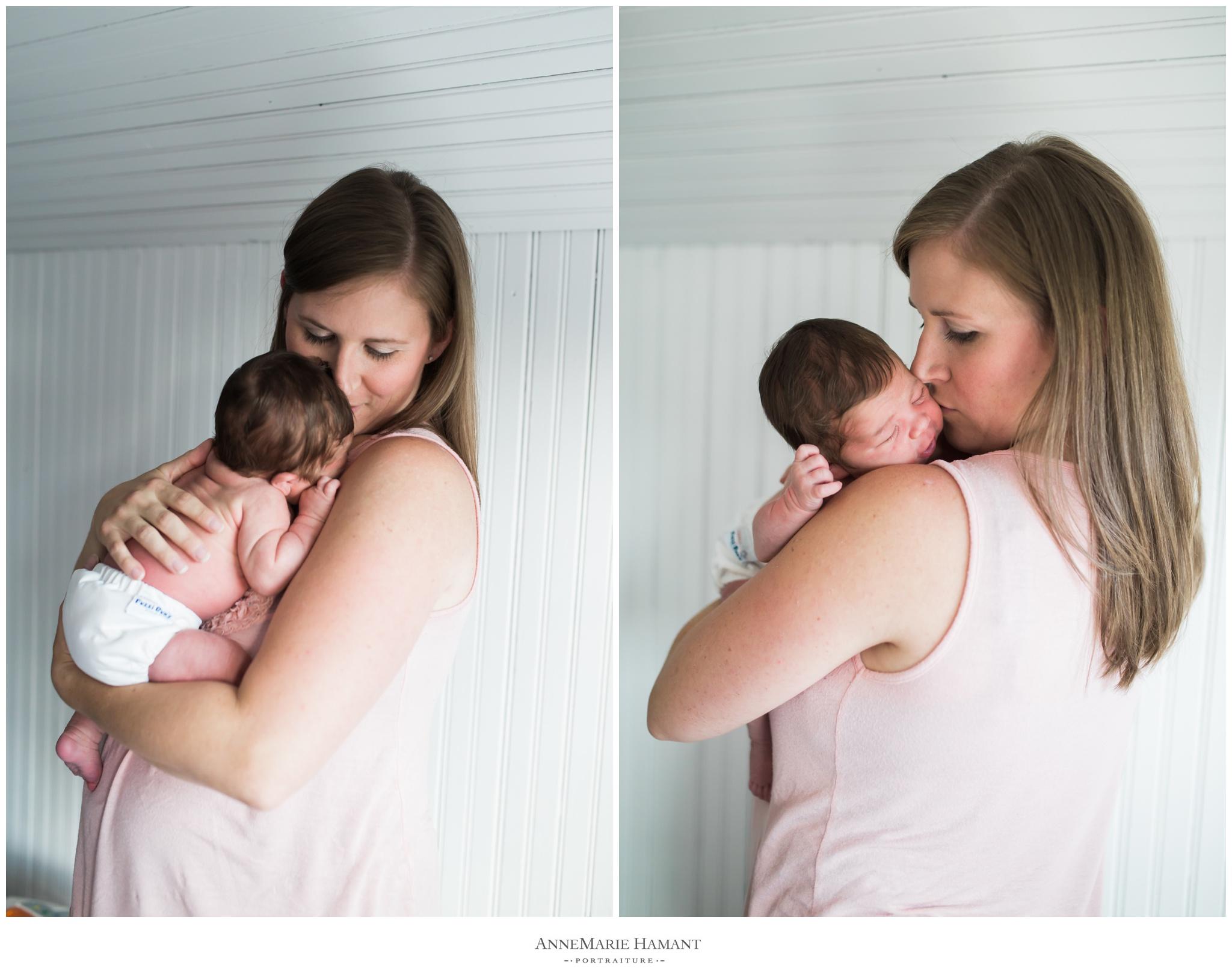 Lehigh Valley lifestyle newborn photographer