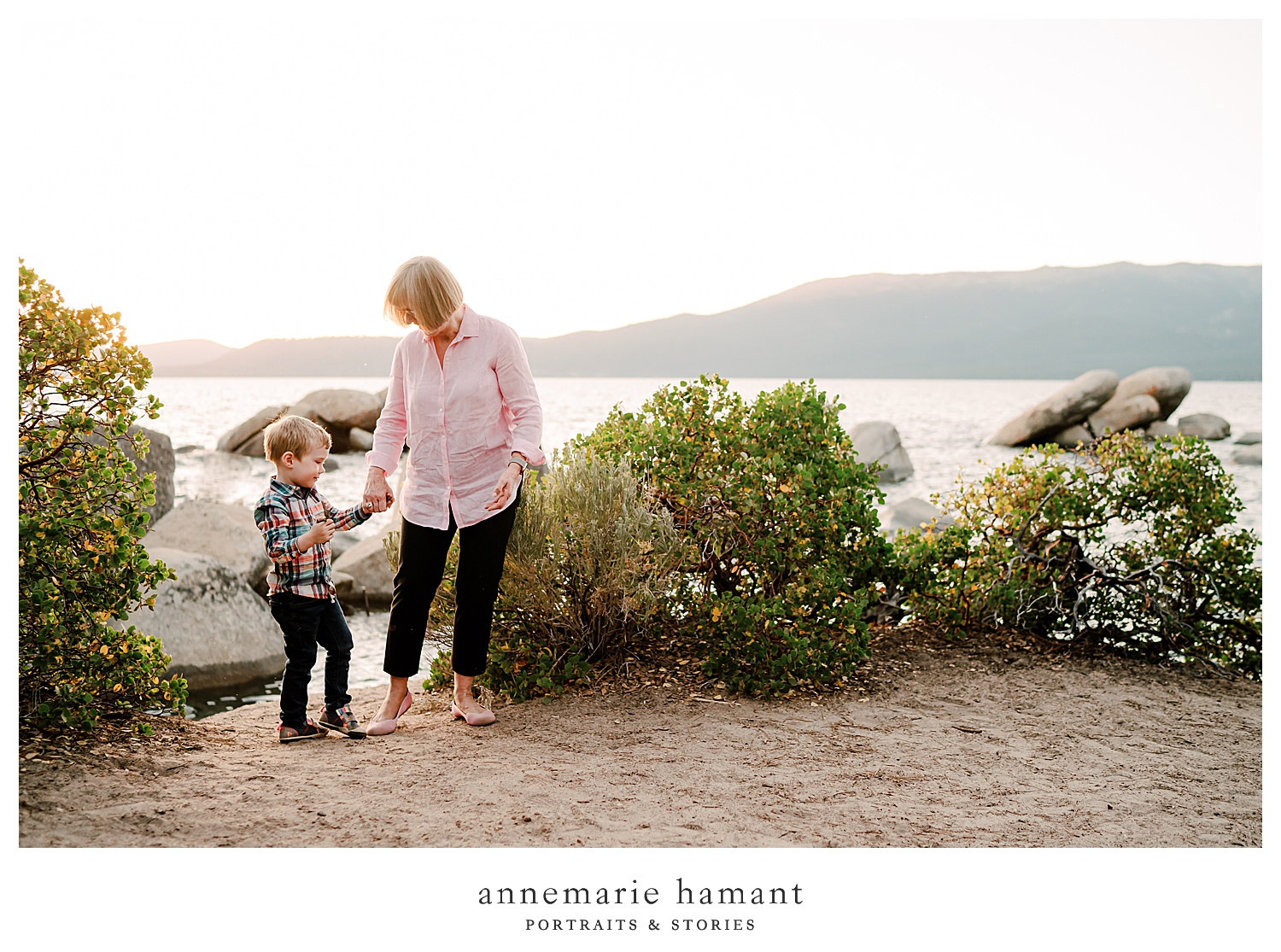 AnneMarie Hamant Portraits + Stories captures the loves of generations in her extended family sessions.