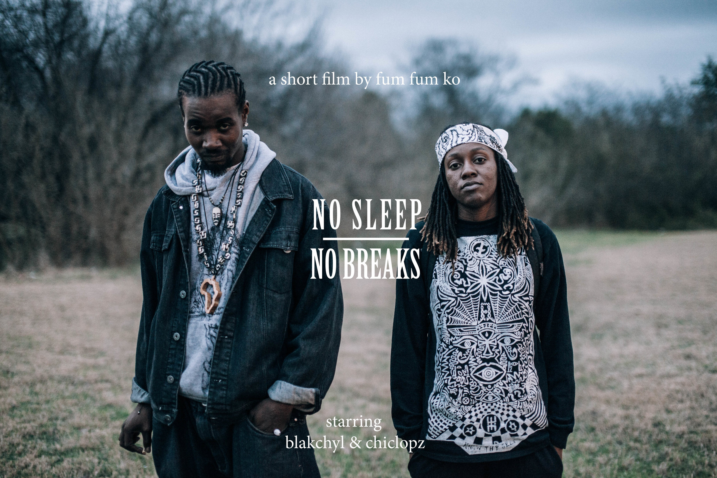 Official Movie Poster - No Sleep No Breaks