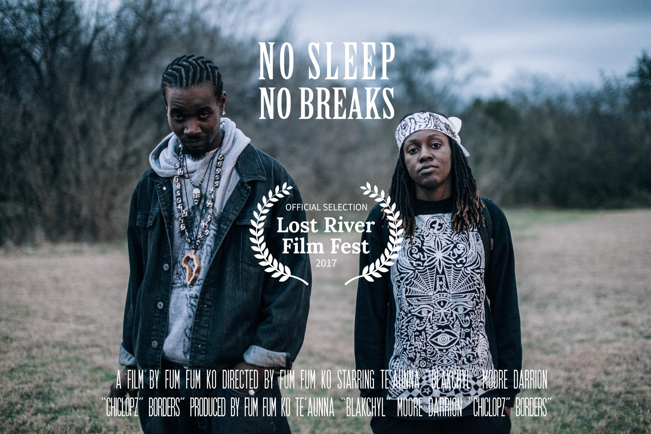Official Movie Poster for Fum Fum Ko's Short Film  No Sleep No Breaks