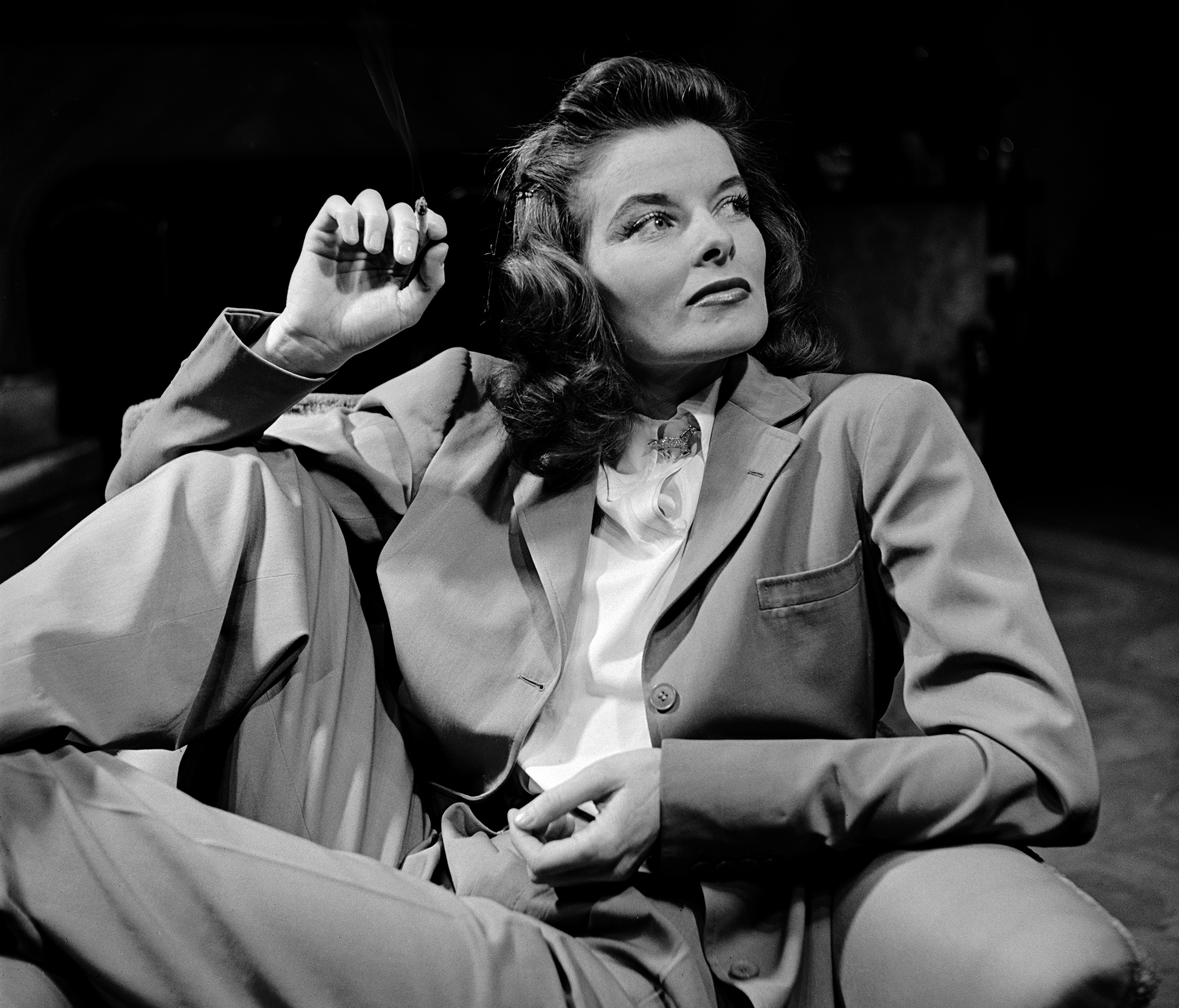 "Katharine Hepburn by Clarence Sinclair Bull for ""Woman of the Year"", directed by George Stevens, 1942"