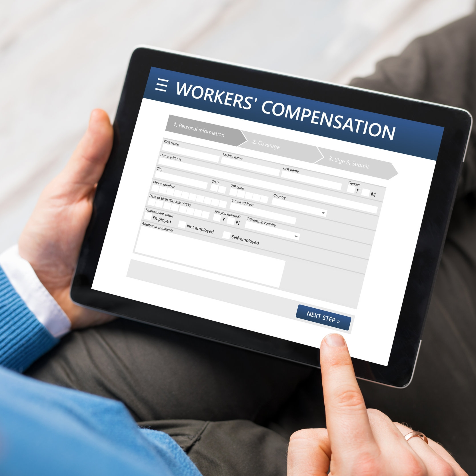 Workers' Compensation - Protecting Your Business From Employee Injuries on The Job. Workers' Compensation is a form of insurance providing wage replacement and medical benefits to employees injured in the course of employment in exchange for mandatory relinquishment of the employee's right to sue his or her employer for the tort of negligence.HOW RATES ARE DETERMINED•Payroll•Job Duties•Area Business Is Located•Claims Experience•Safety Programs•And Other Factors...