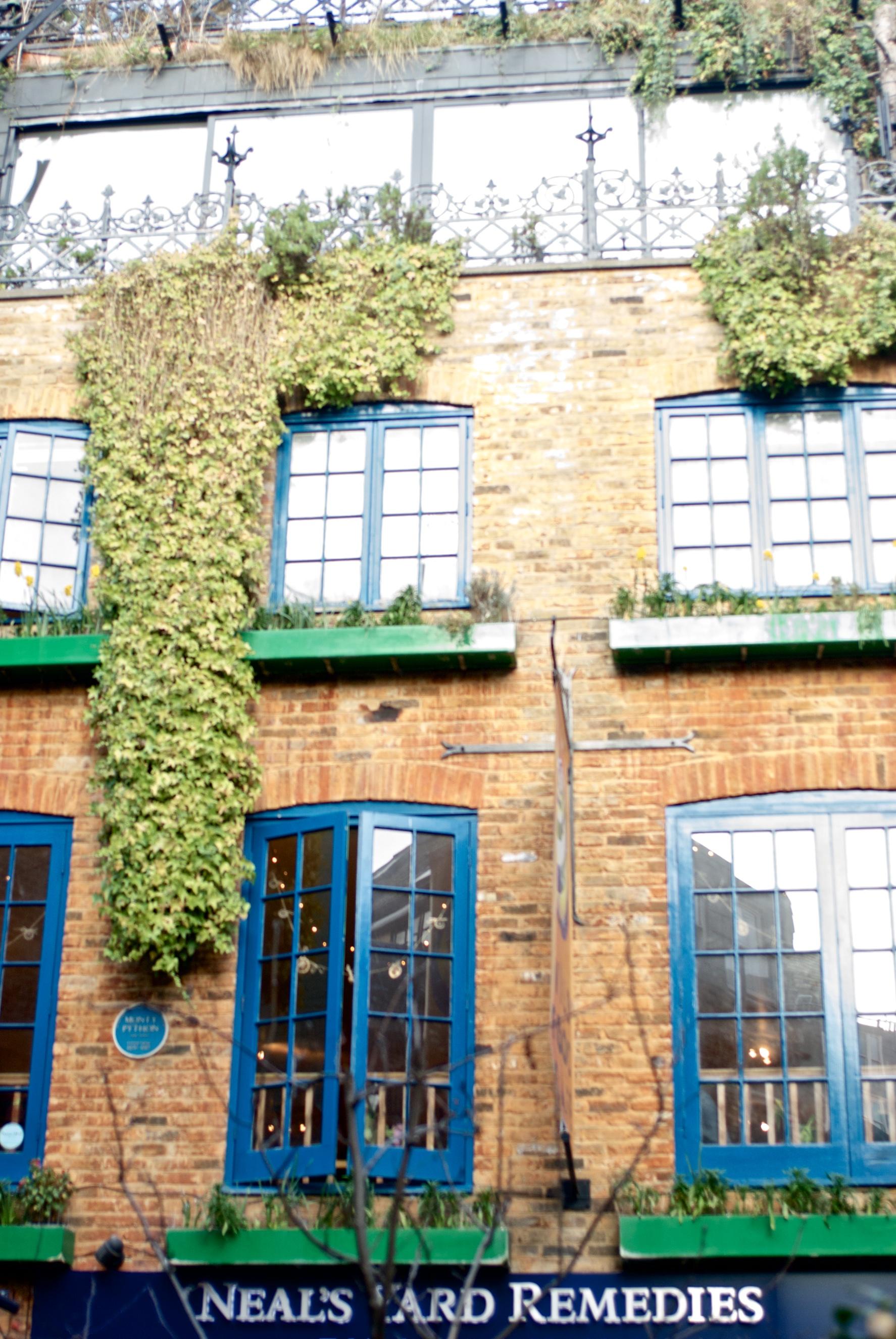 Londres. Neil's Yard