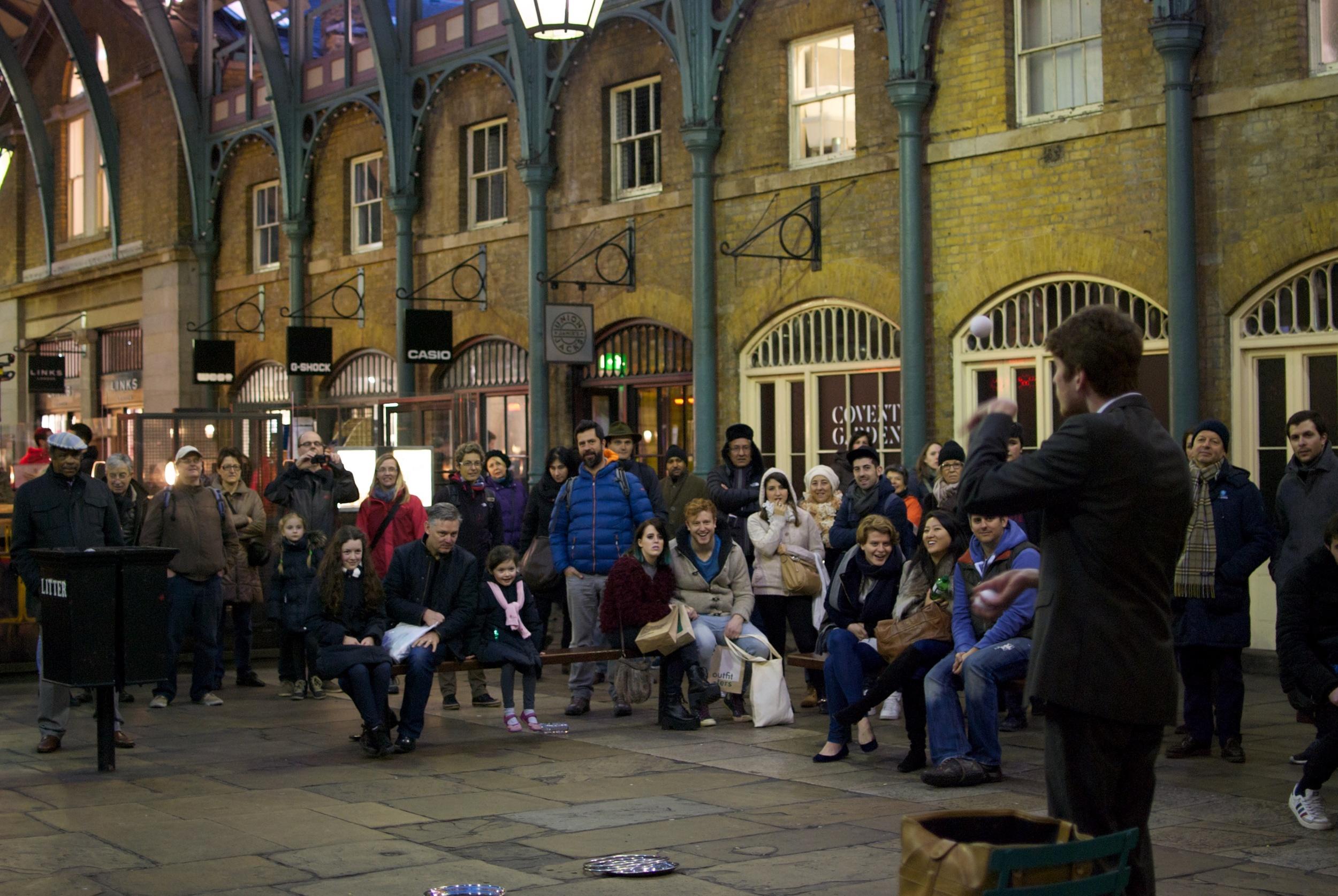Londres. Covent Garden