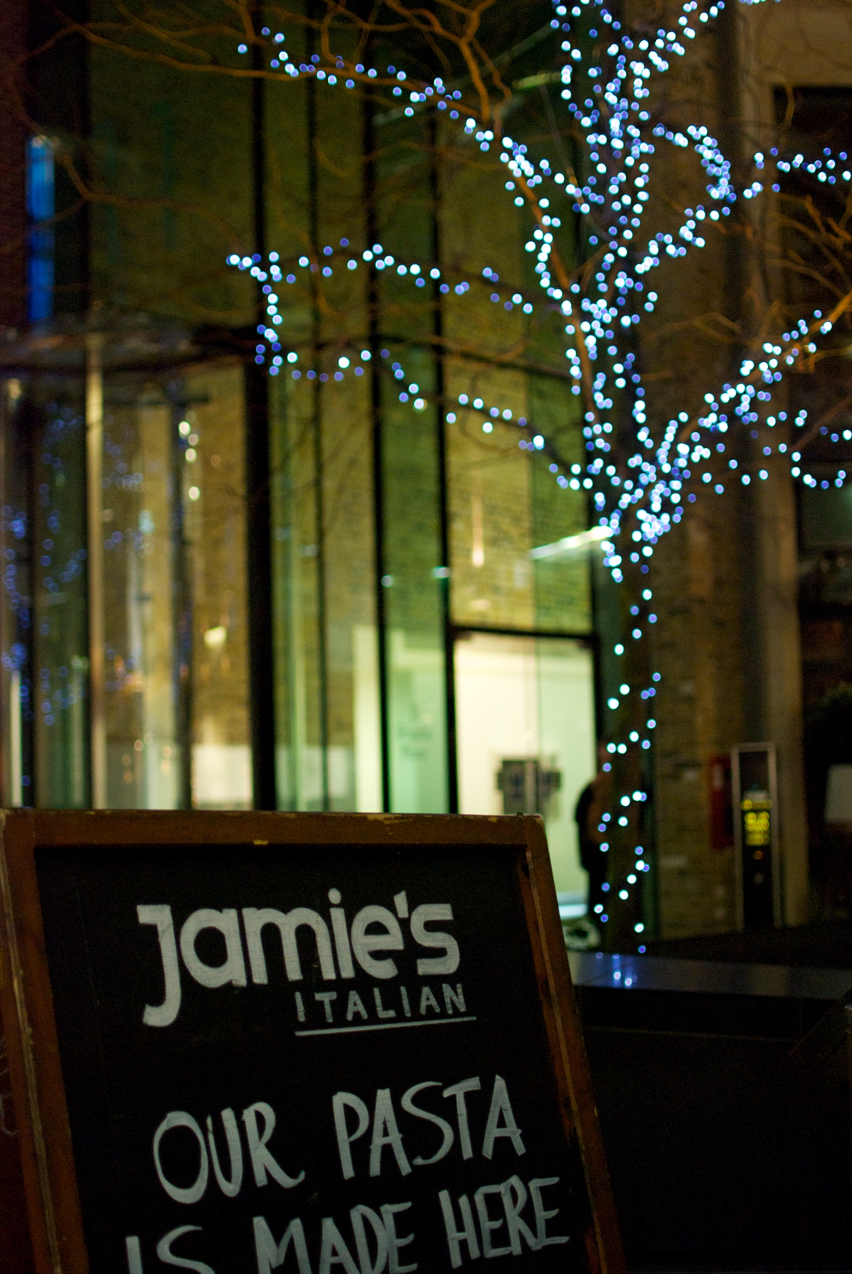 Londres. Jamie's Italian