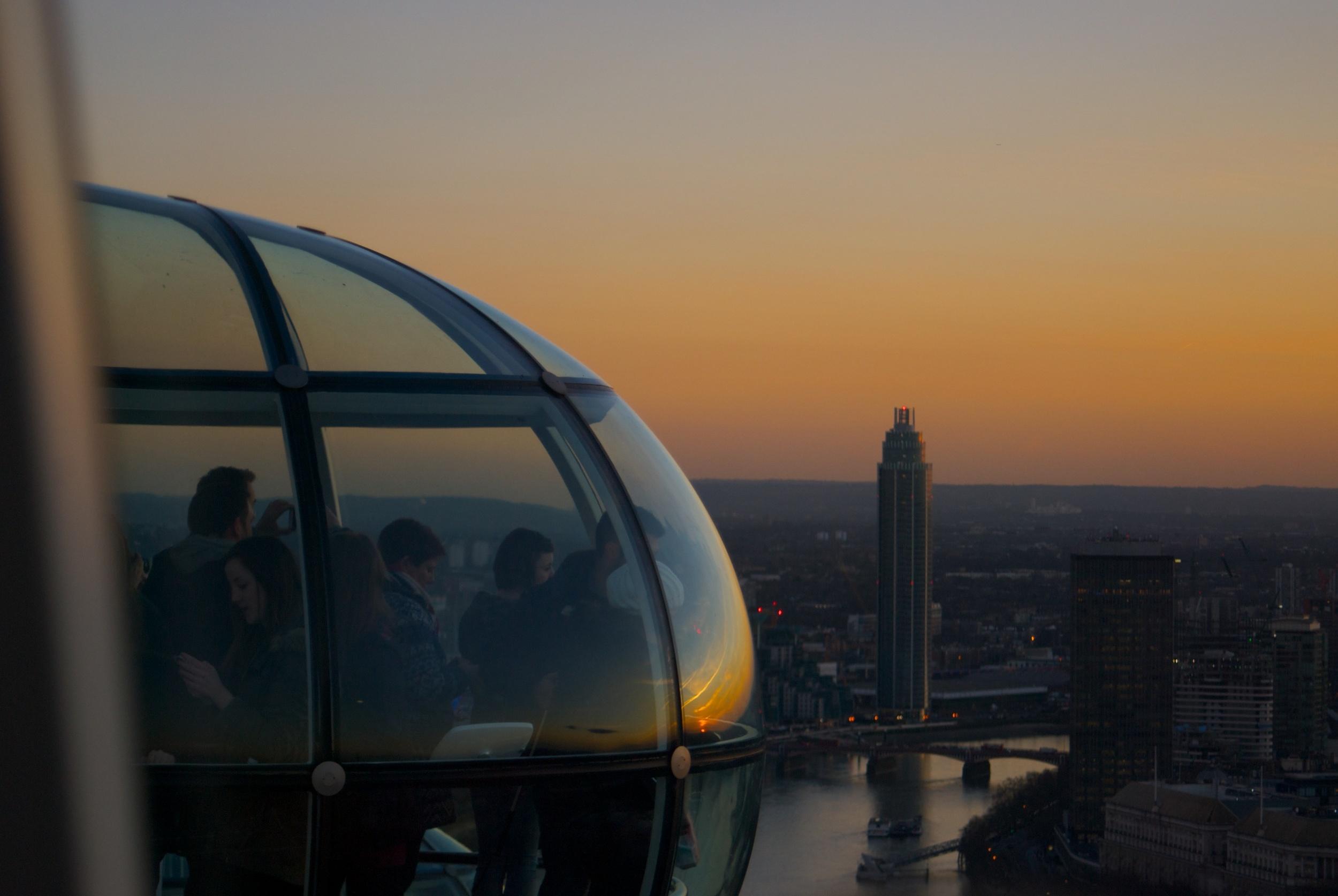 Desde el London Eye