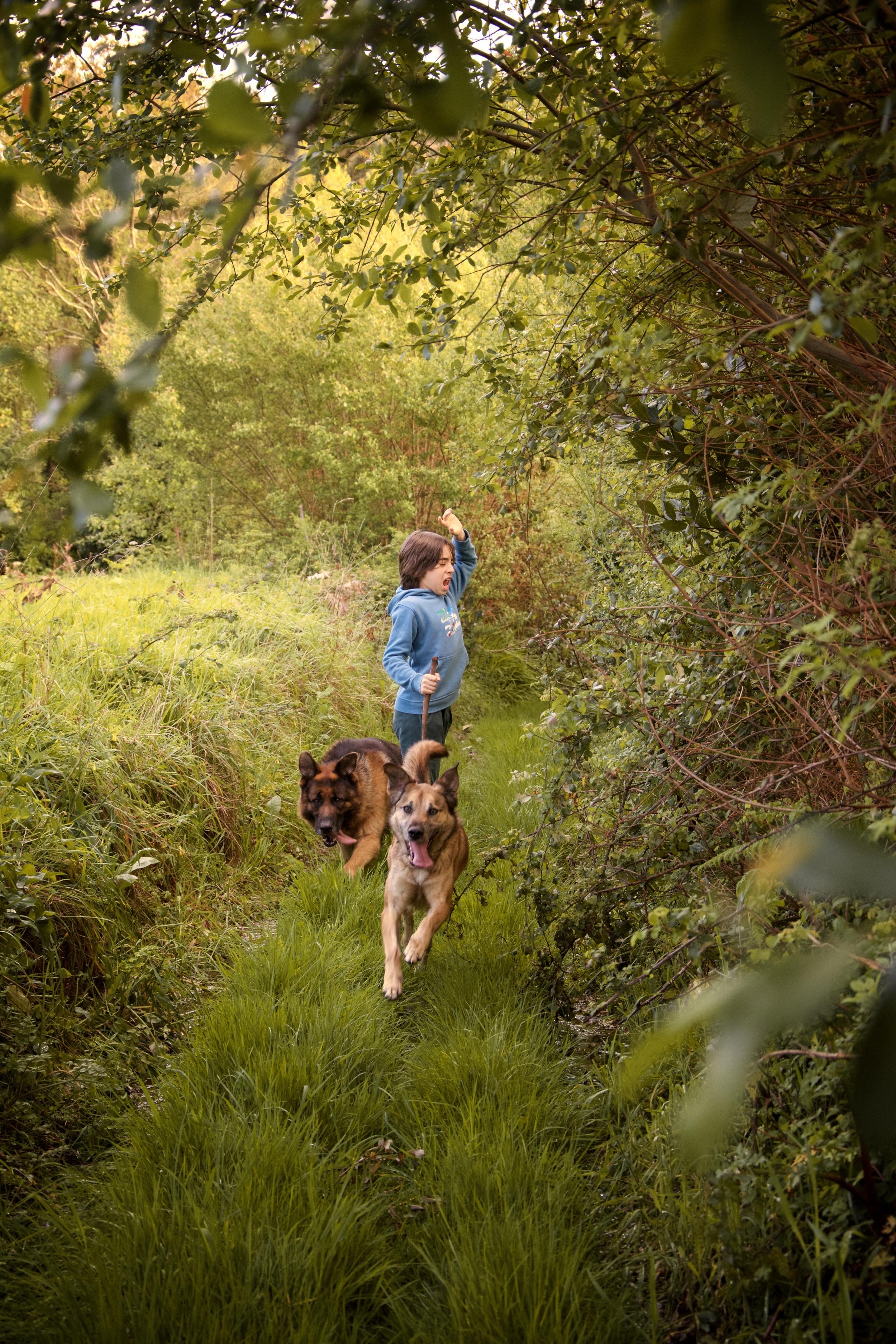 Sesion fotos familia  y mascotas Galicia