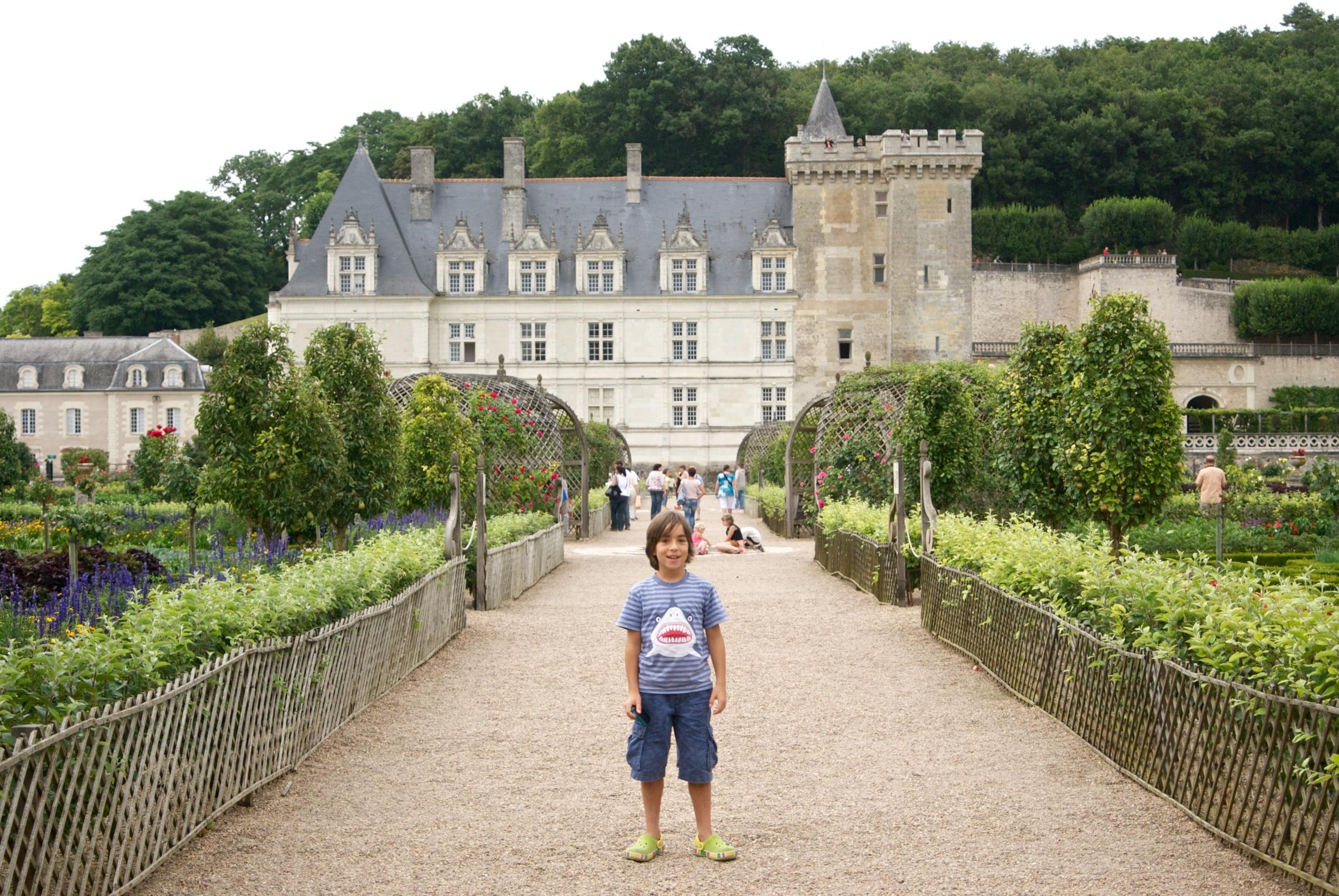 La huerta del Castillo de Villandry