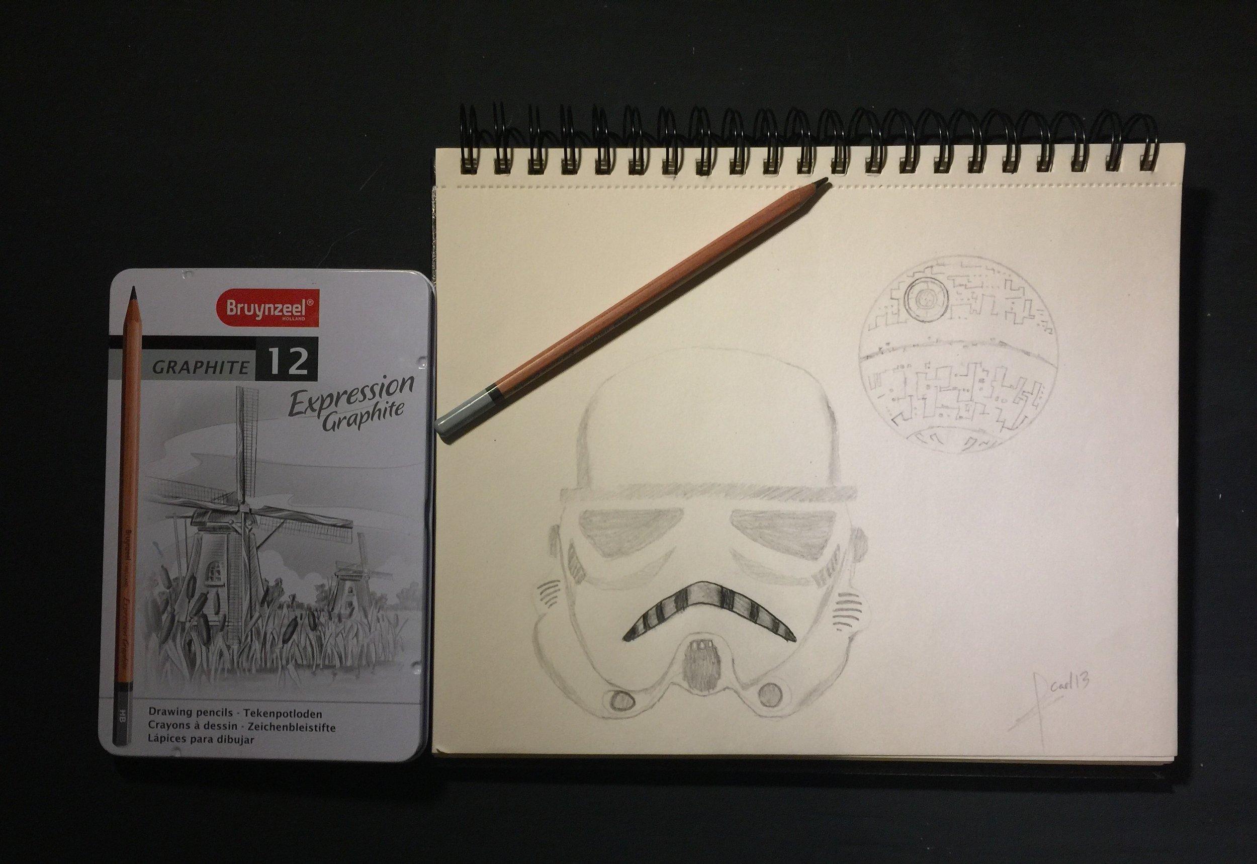 Dibujo Star Wars