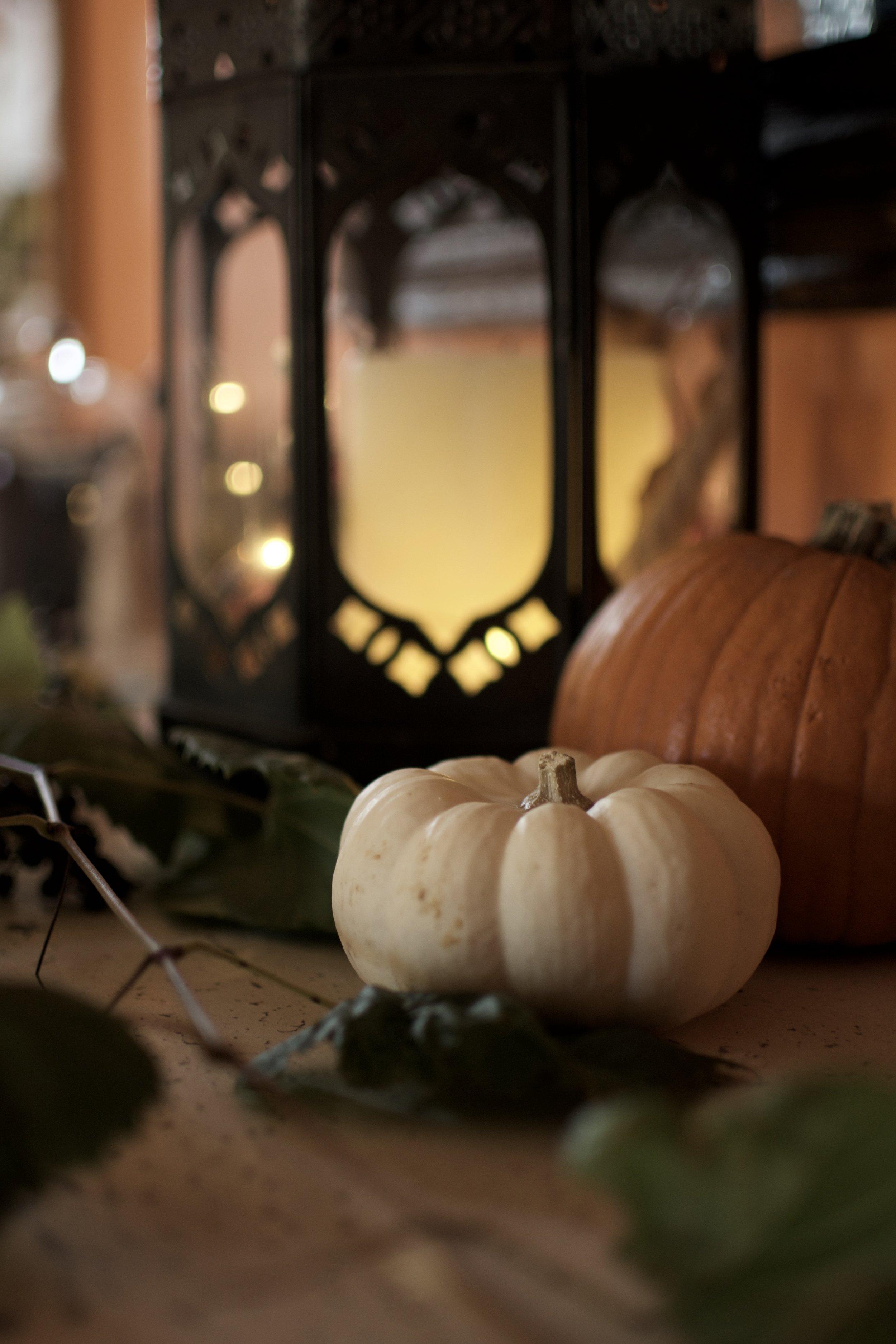 Decoración cumpleaños otoño