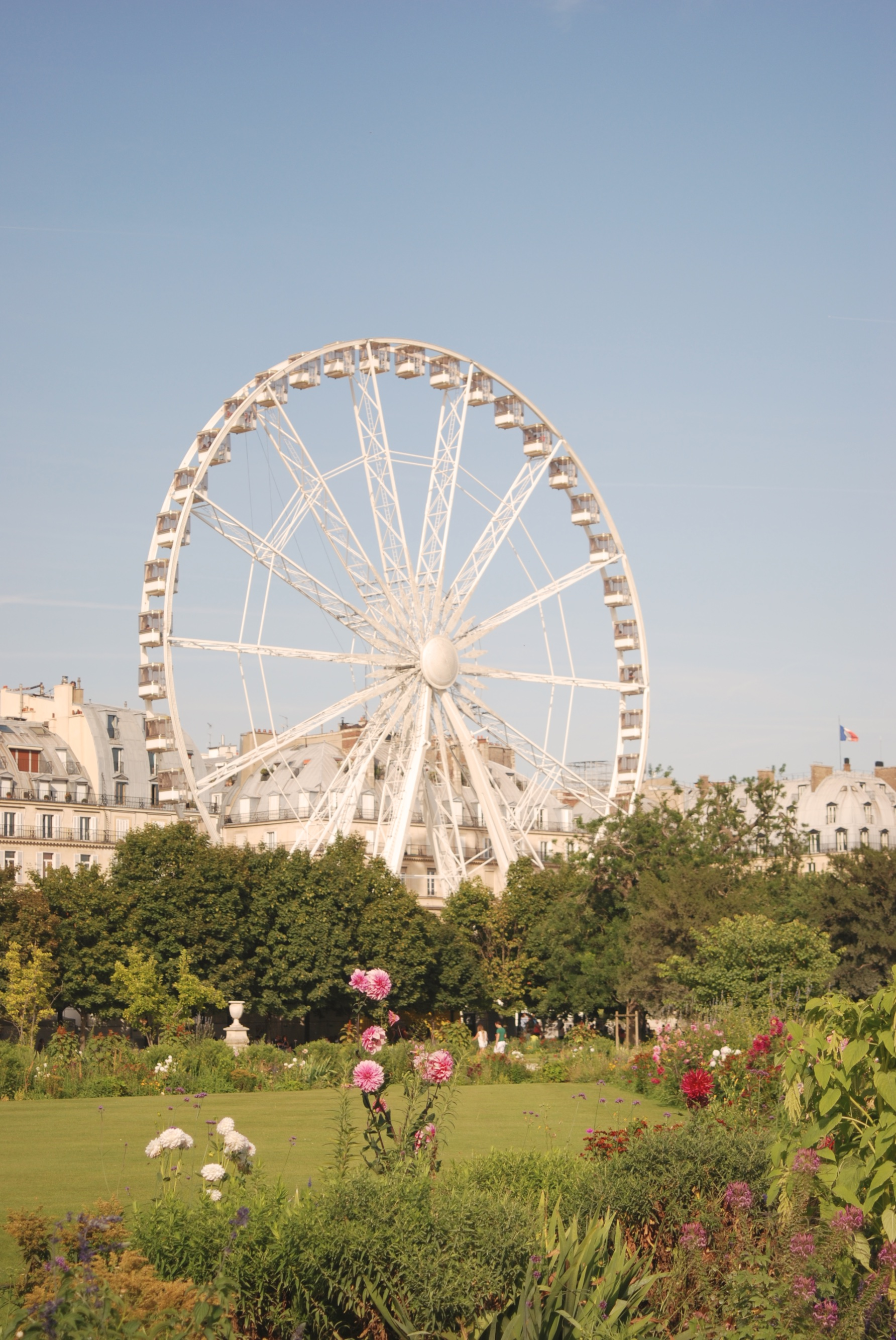Paris. Jardín de las Tullerias