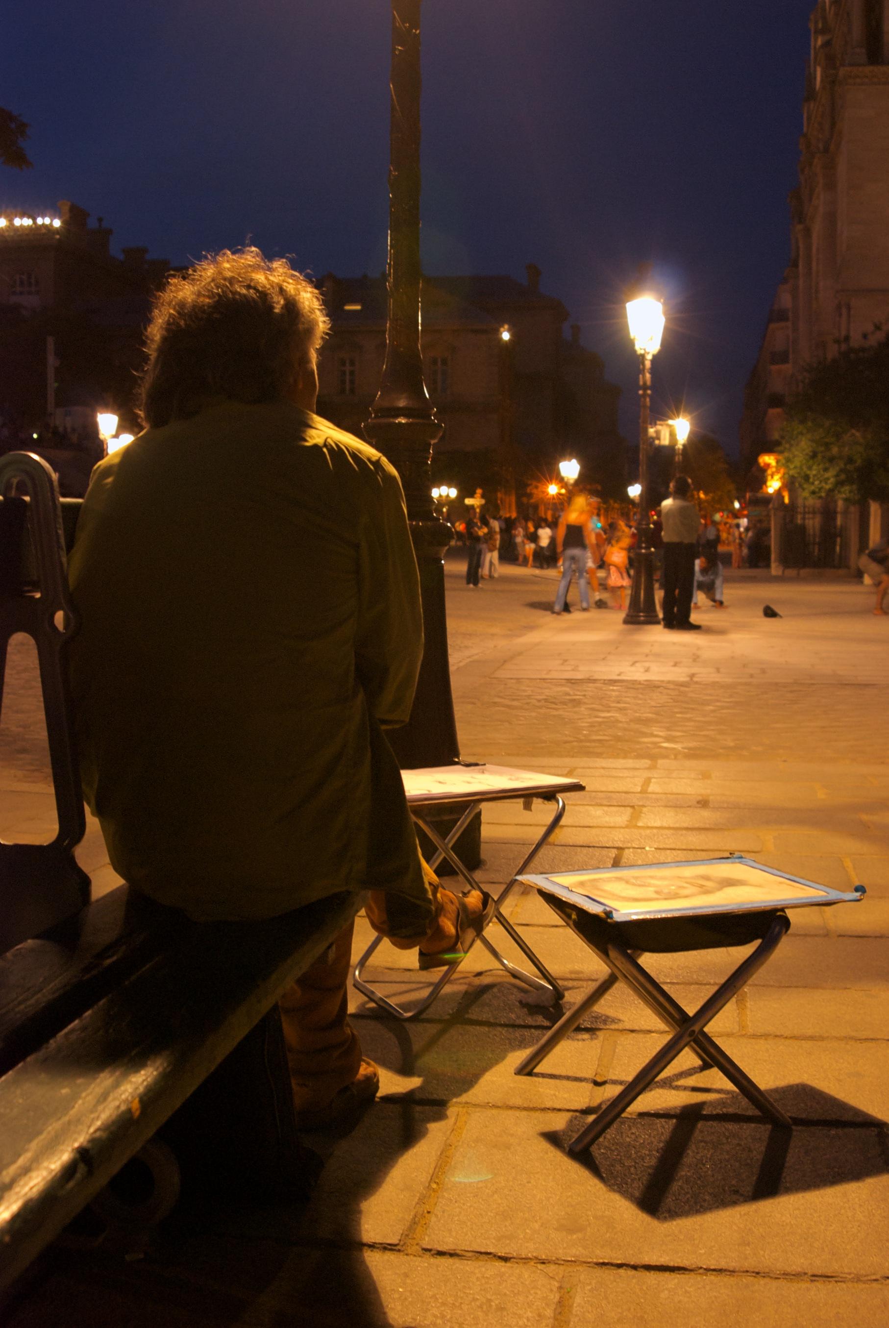 Artista Callejero Paris
