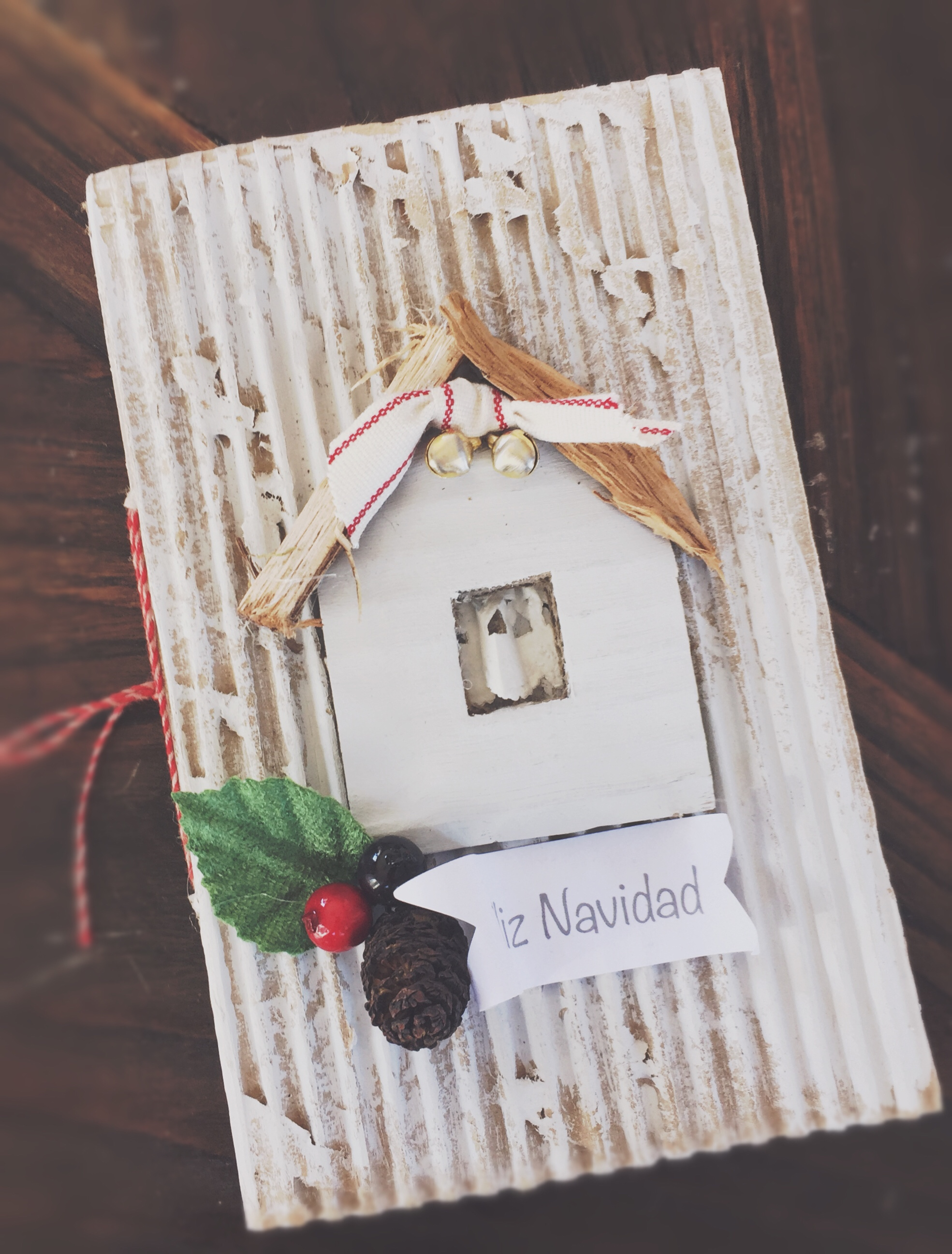 DIY Tarjeta Navidad