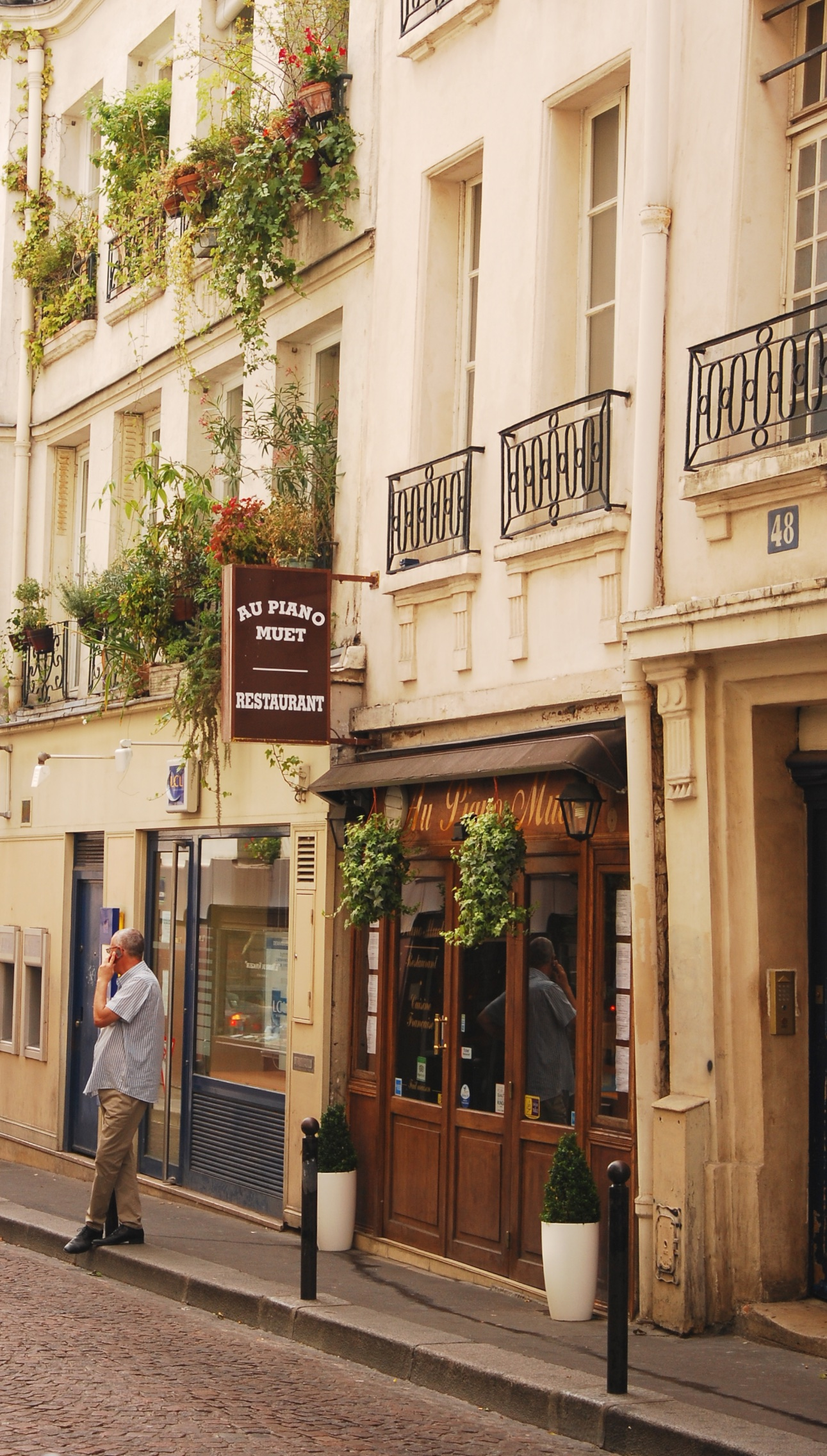Rue Mouffetard, París