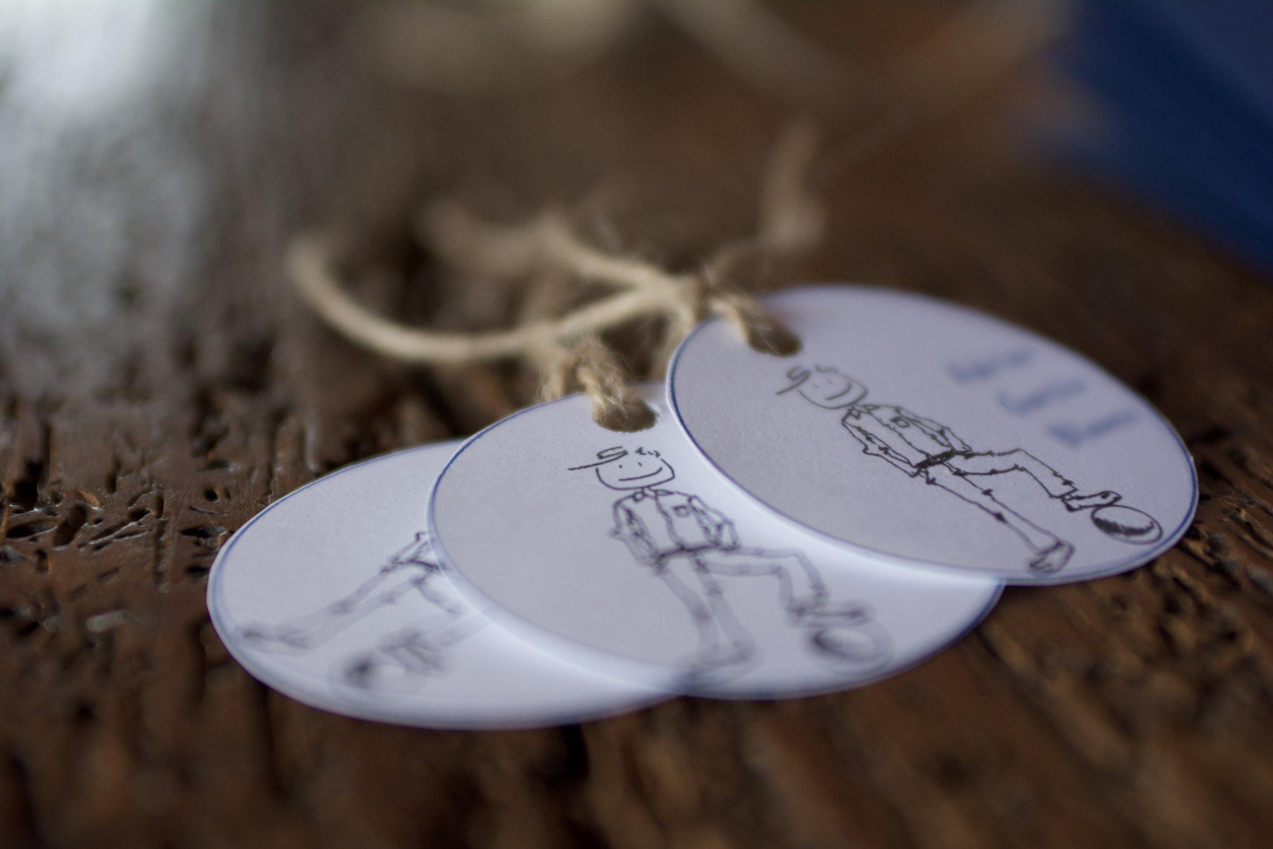 Recordatorio comunión personalizada hecha a mano