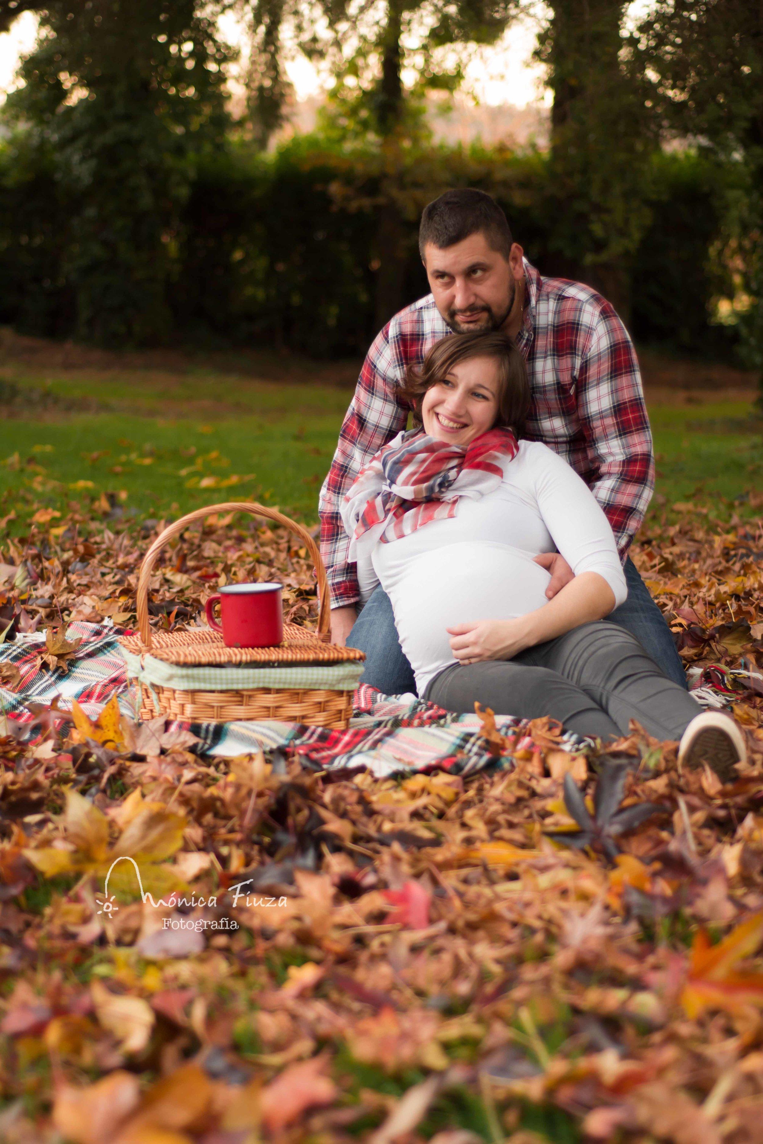 Sesión fotos embarazo Galicia