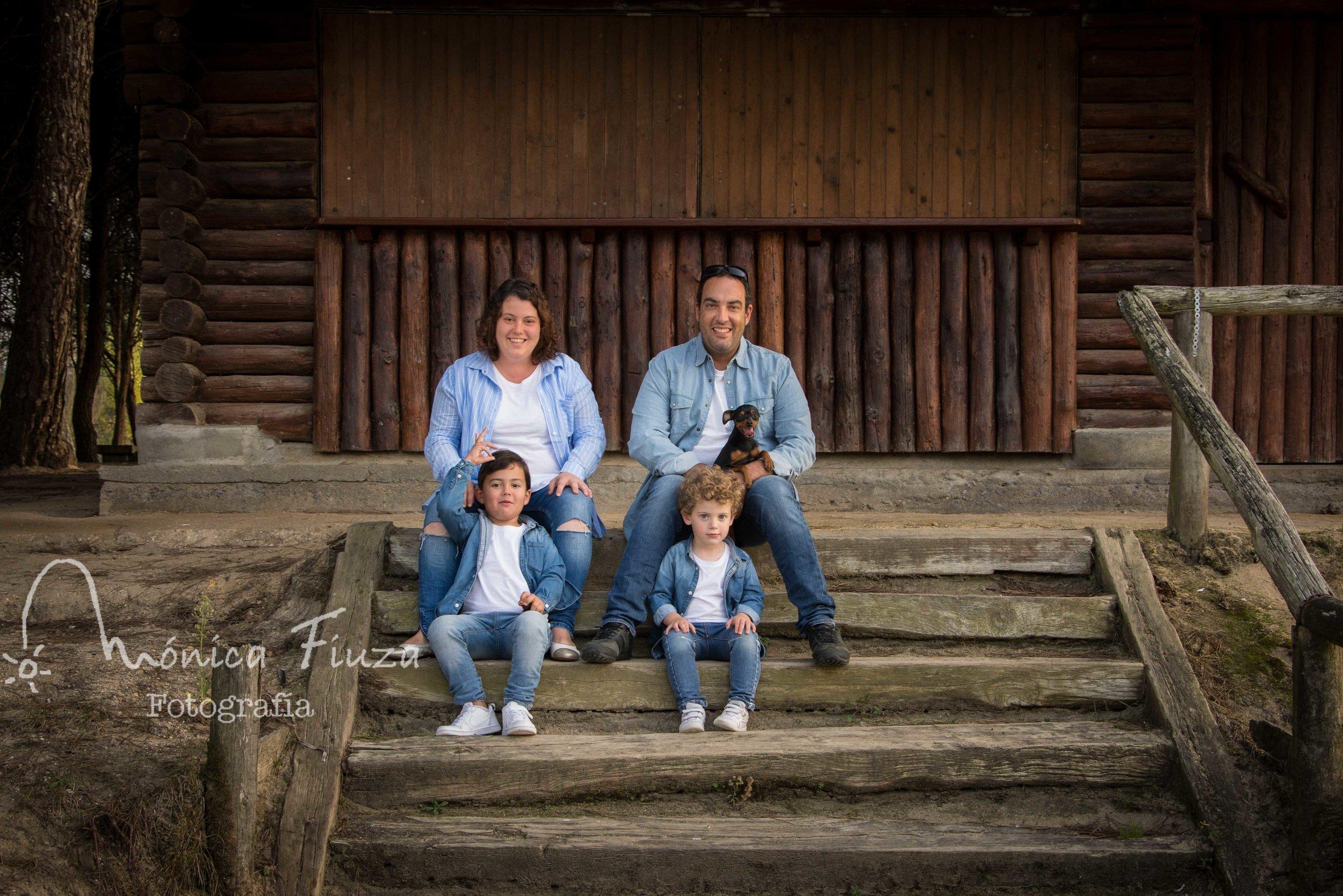 Fotografia de familia Galicia