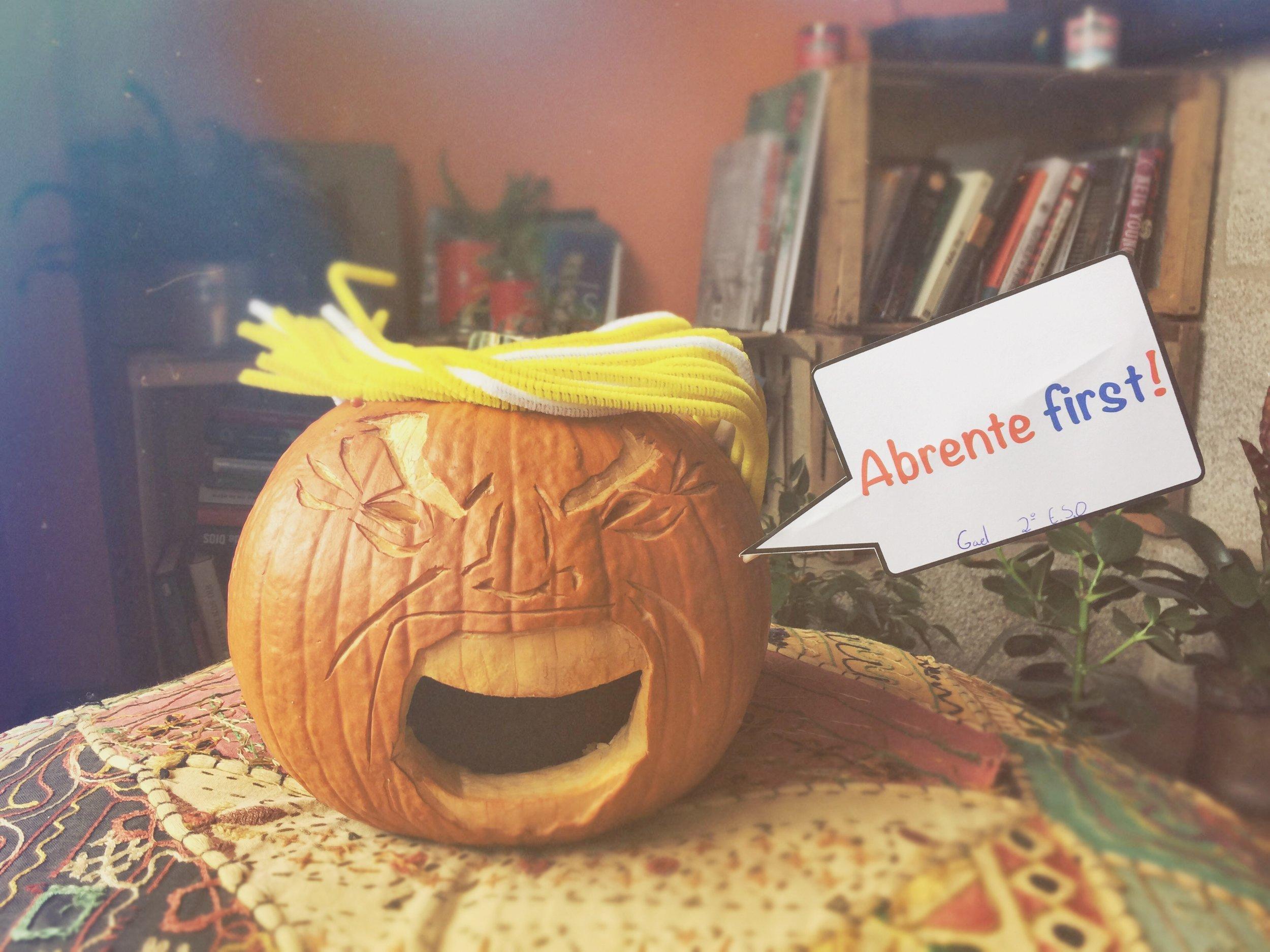 Calabaza Samaín Halloween