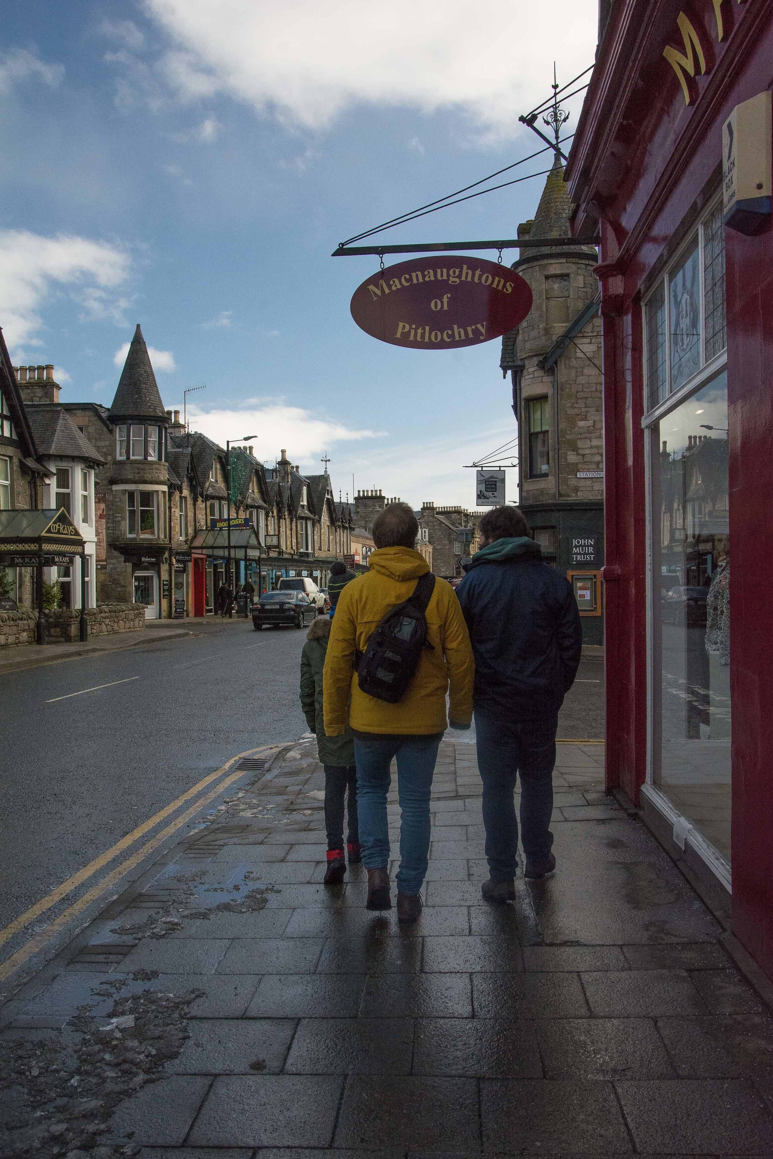Pitlochry, Escocia