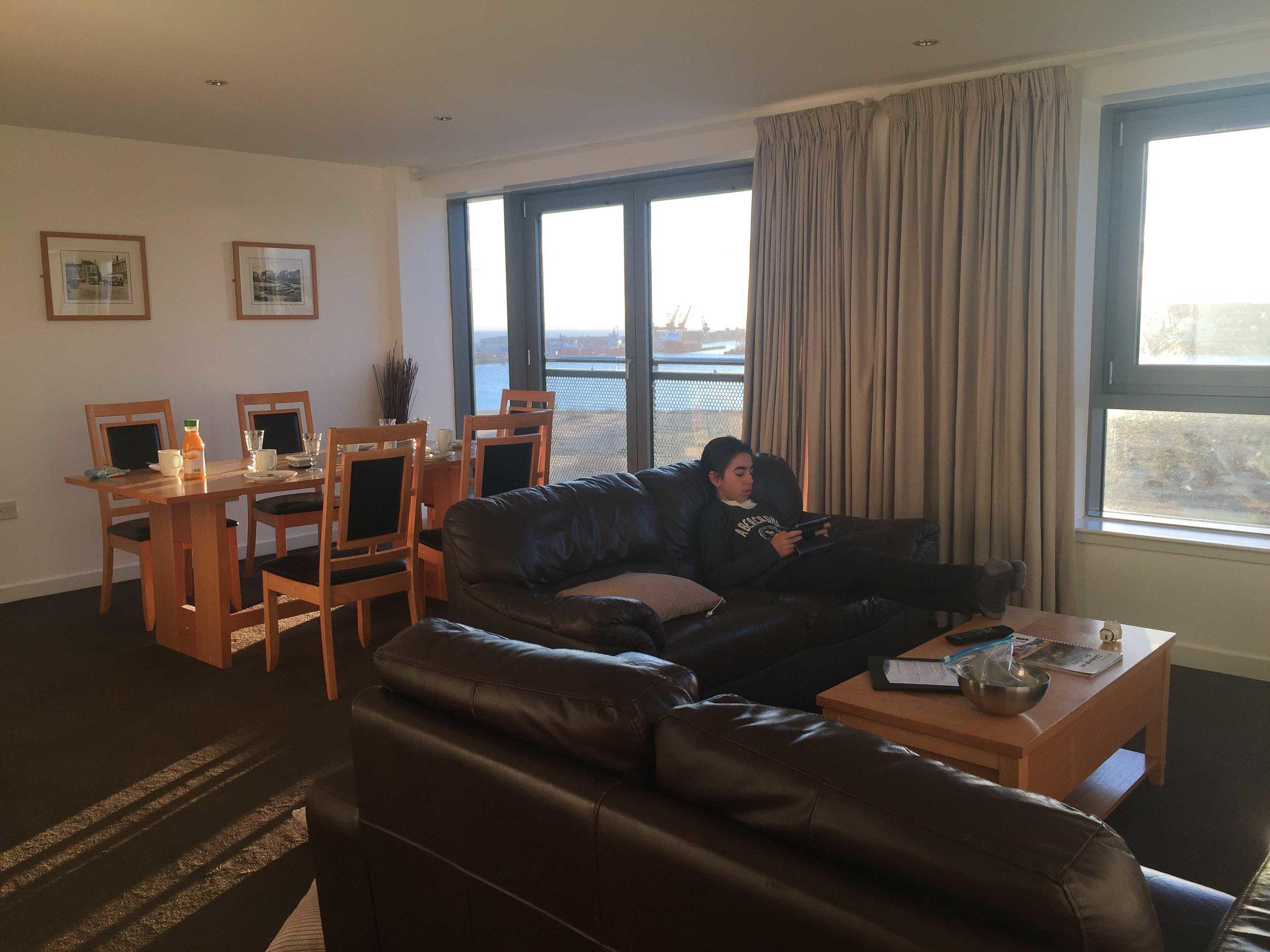 Nuestro apartamento en Edimburgo