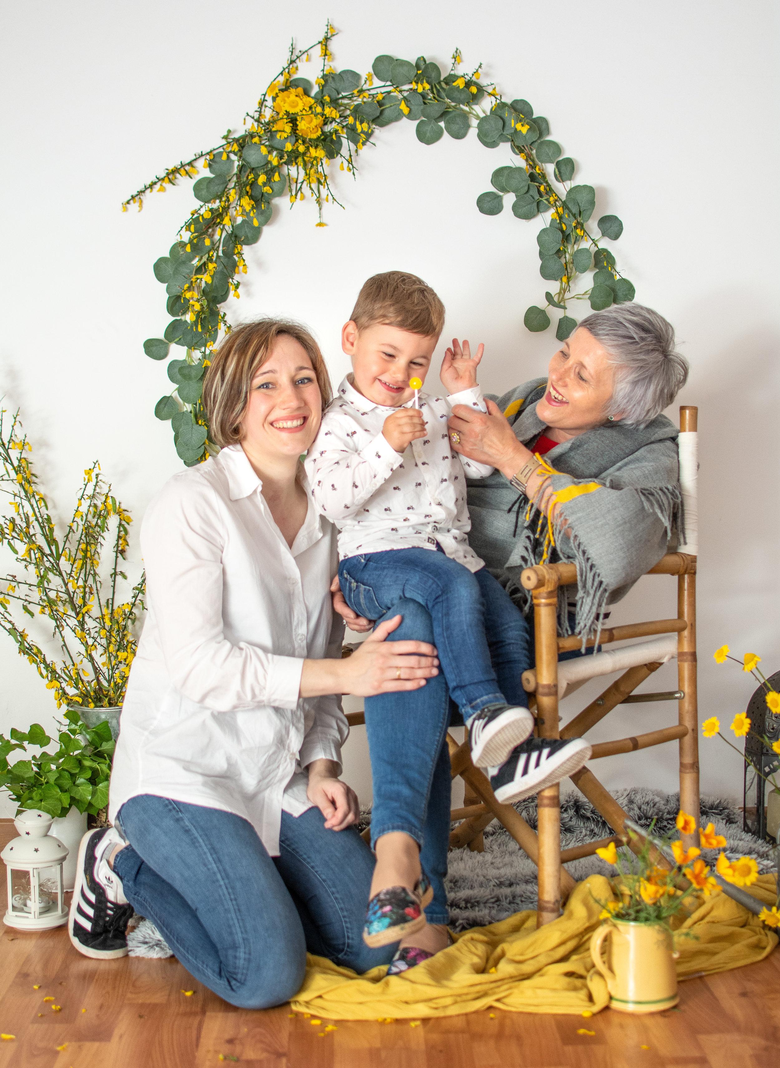 sesión de fotos dia de la madre galicia