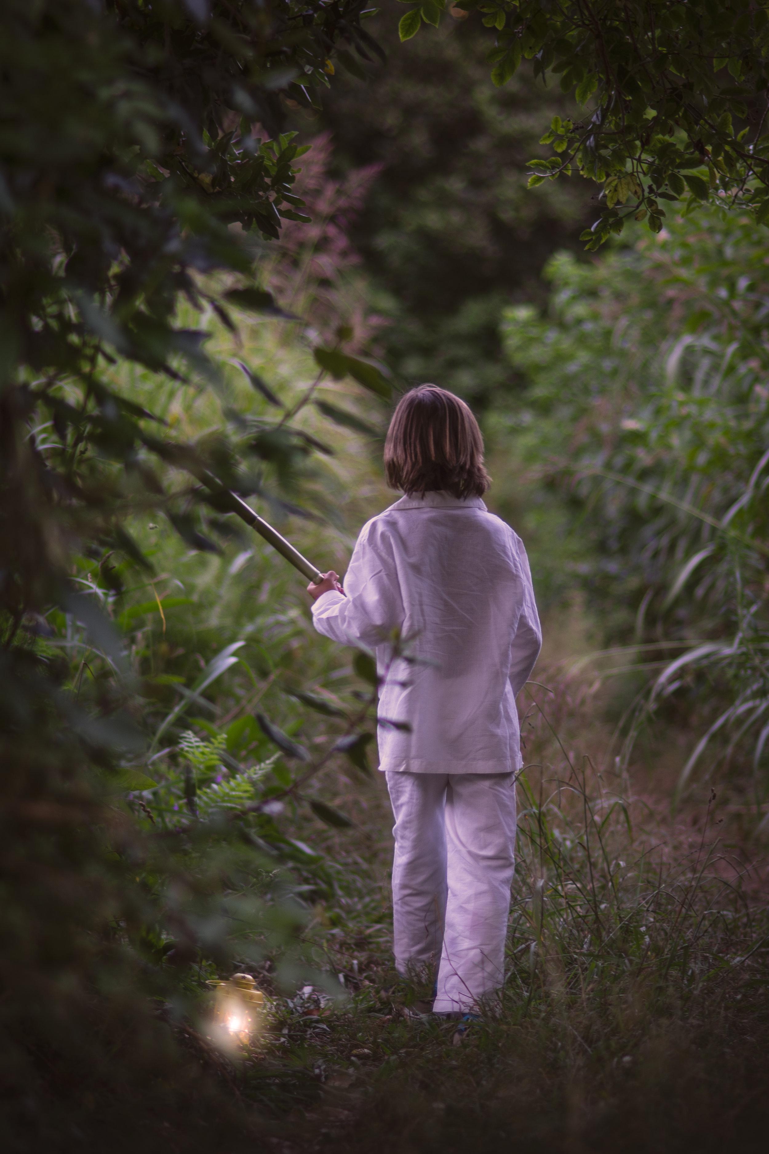 Sesion de fotos en el bosque encantado