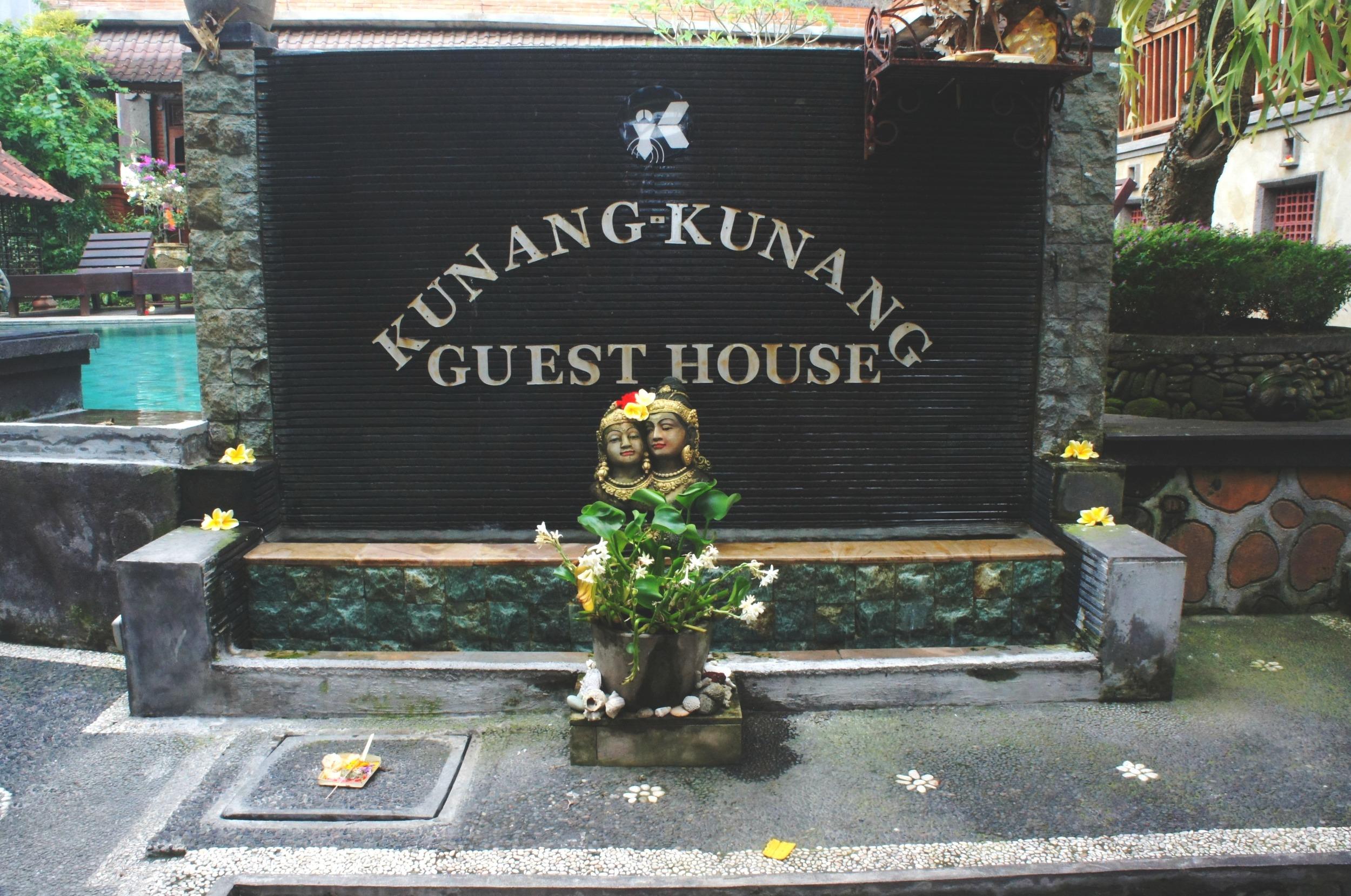 Kunang Kunang Guesthouse Entrance