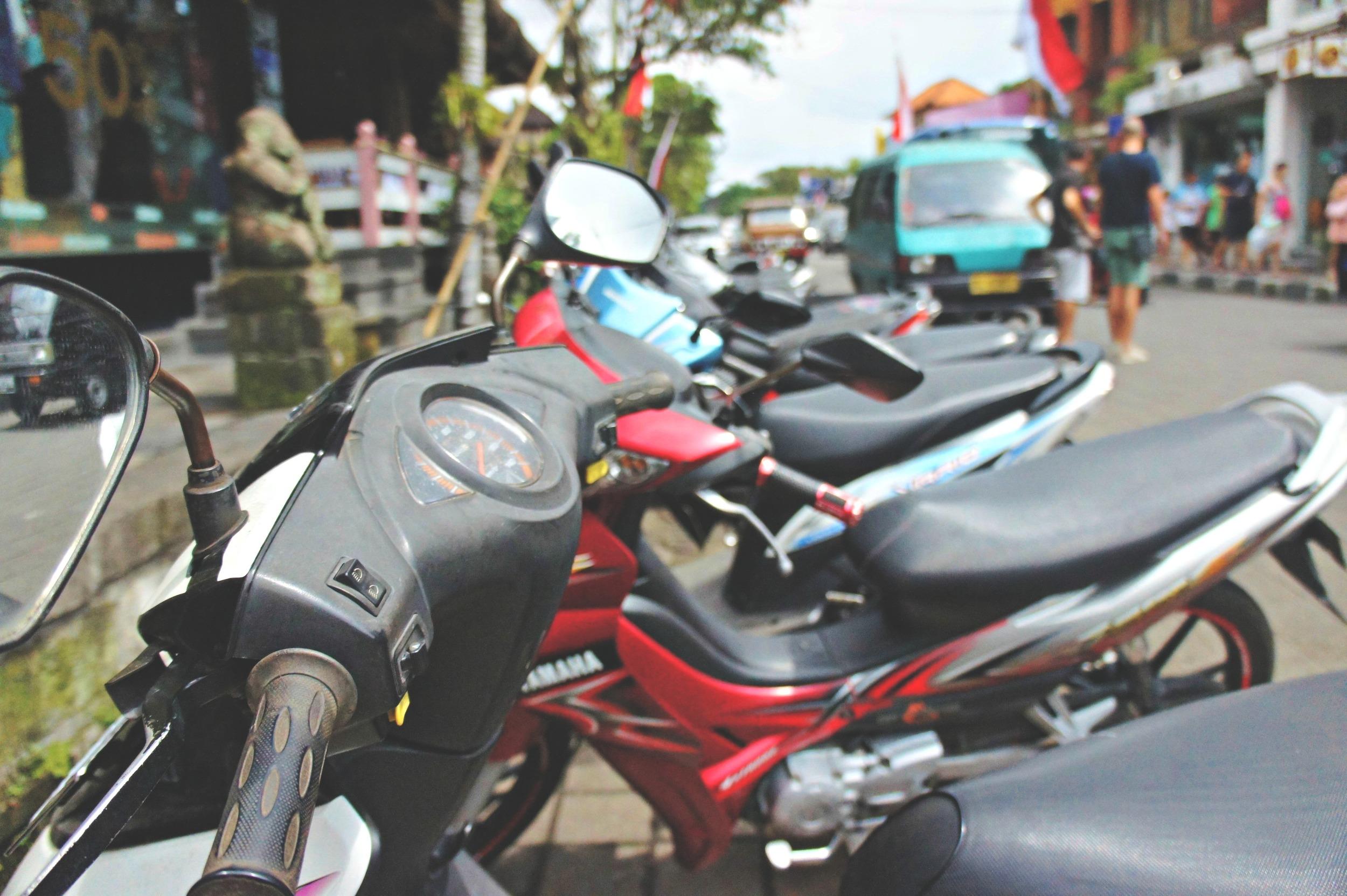 Motorbikes Jalan Raya Ubud