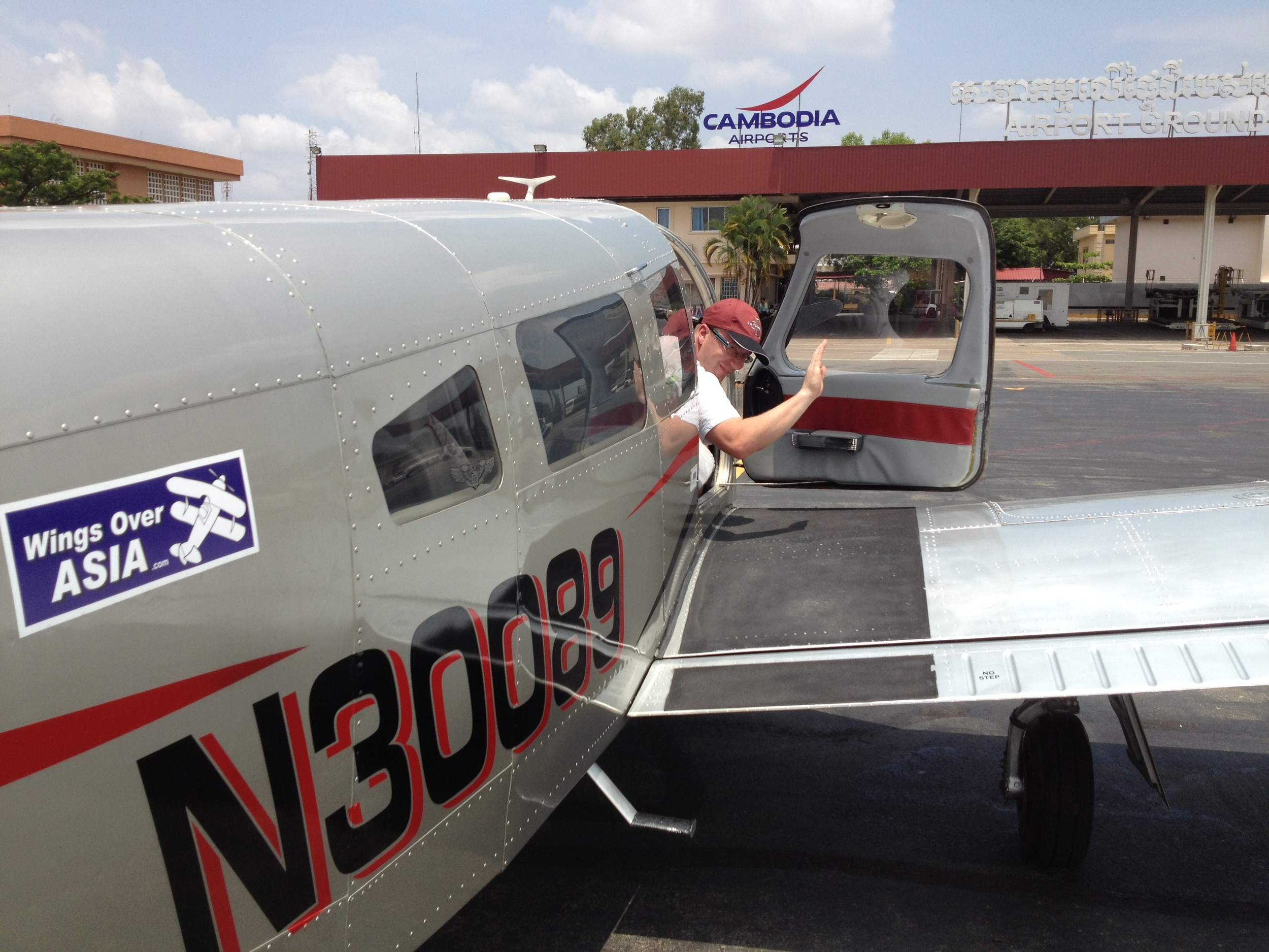 Fly yourself to Cambodia by Private Plane