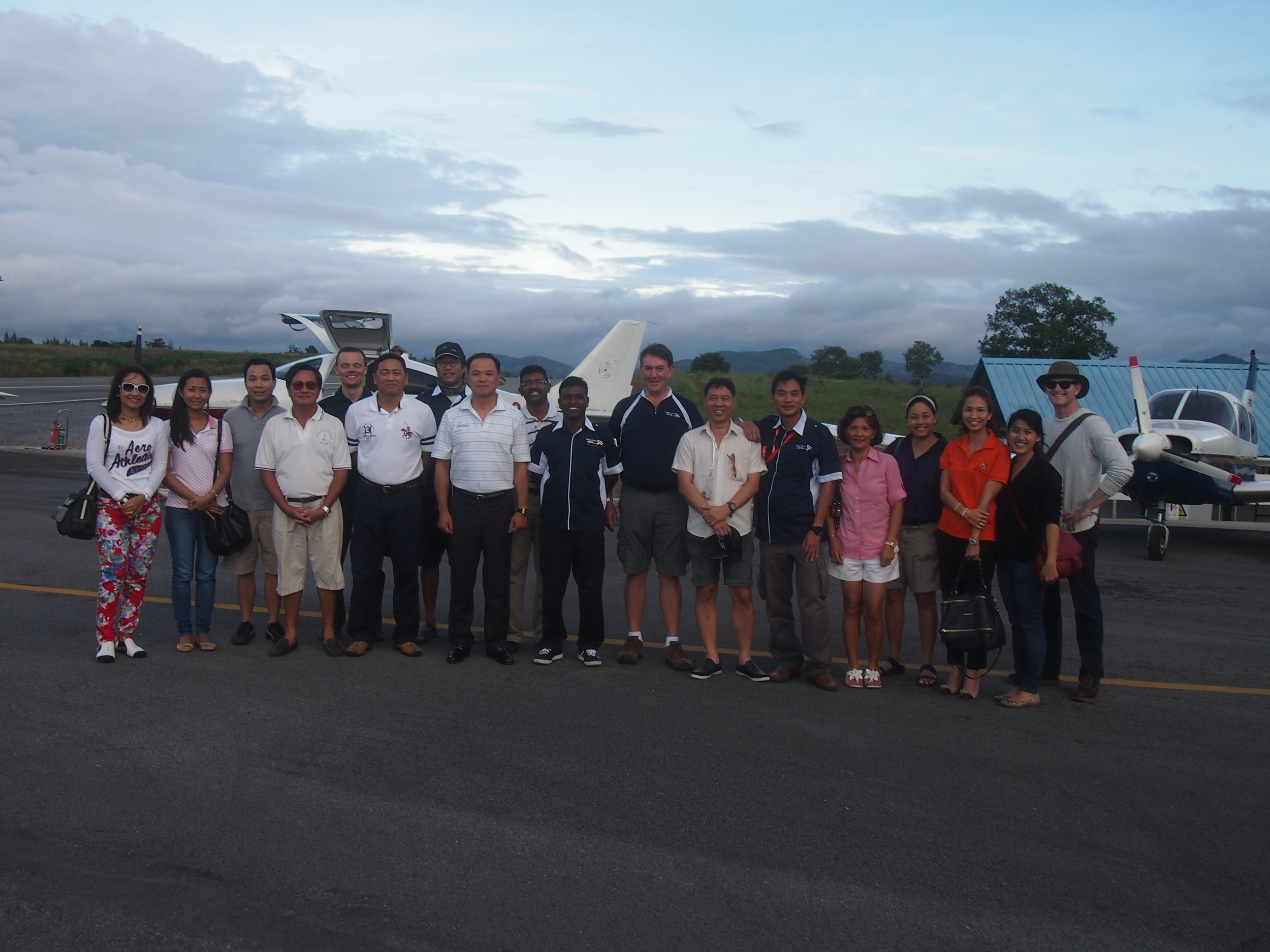 Rancho Charnvee Private Airstrip & Golf Resort, Thailand