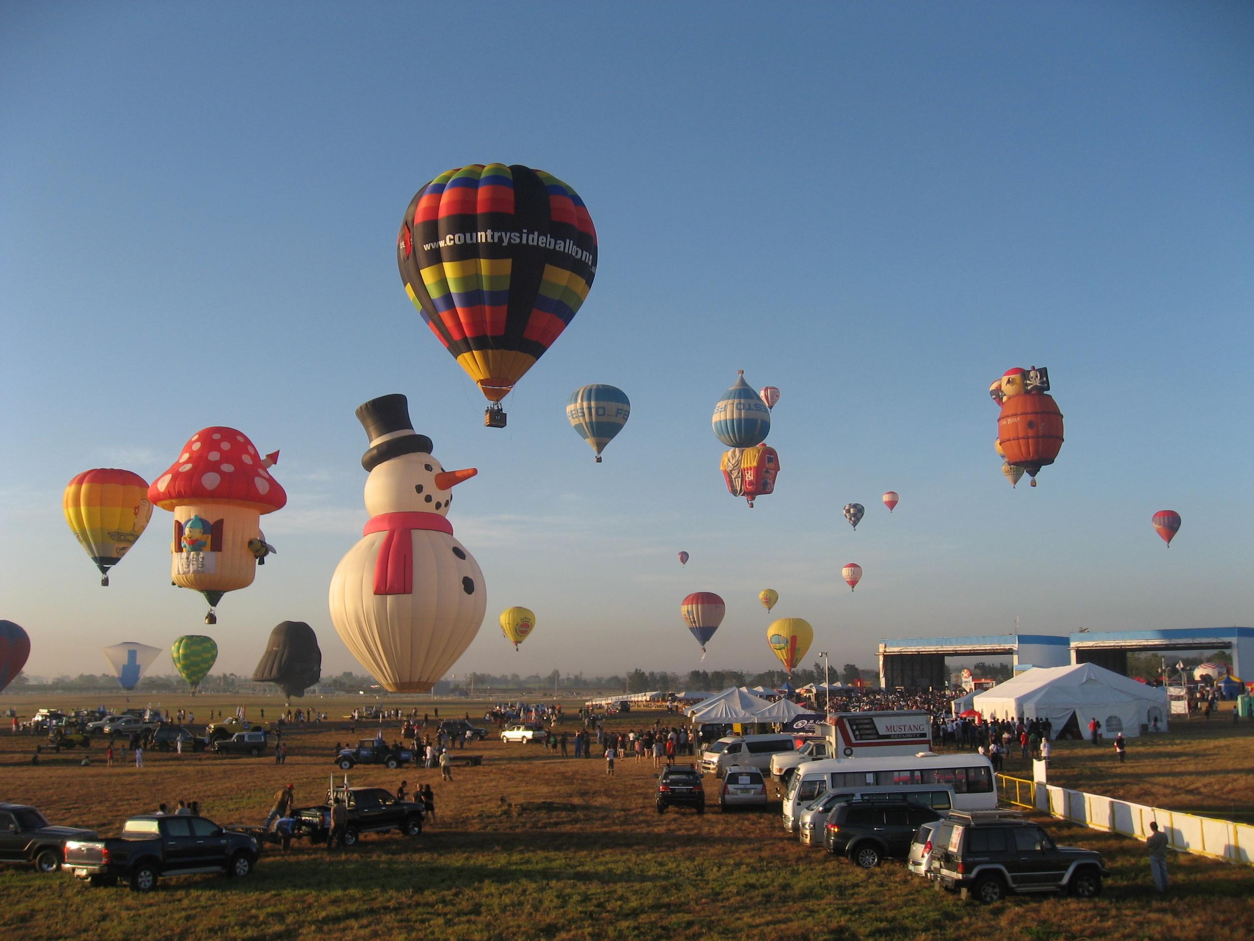 Clark Hot Air Balloon Festival, Phillippines