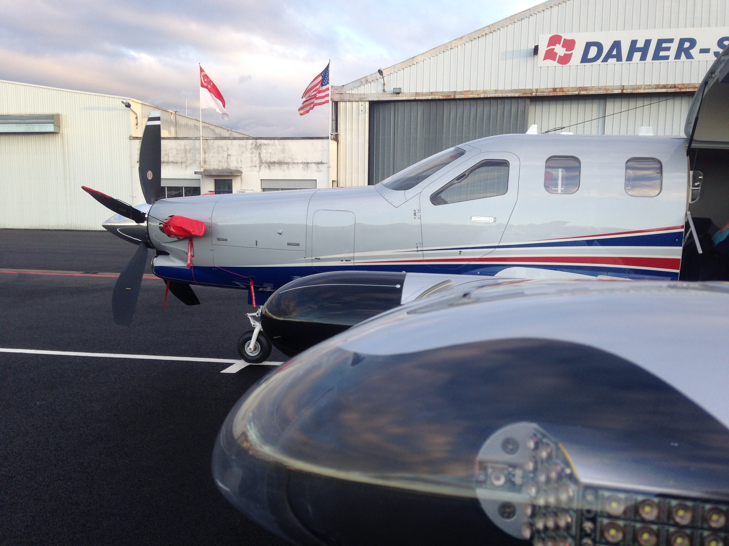 Aircraft Delivery At Daher TBM Factory, France