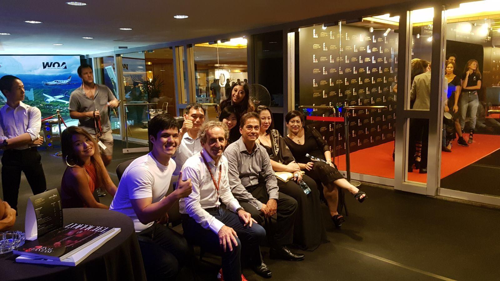 WOA F1 Podium Lounge with F1 Driver