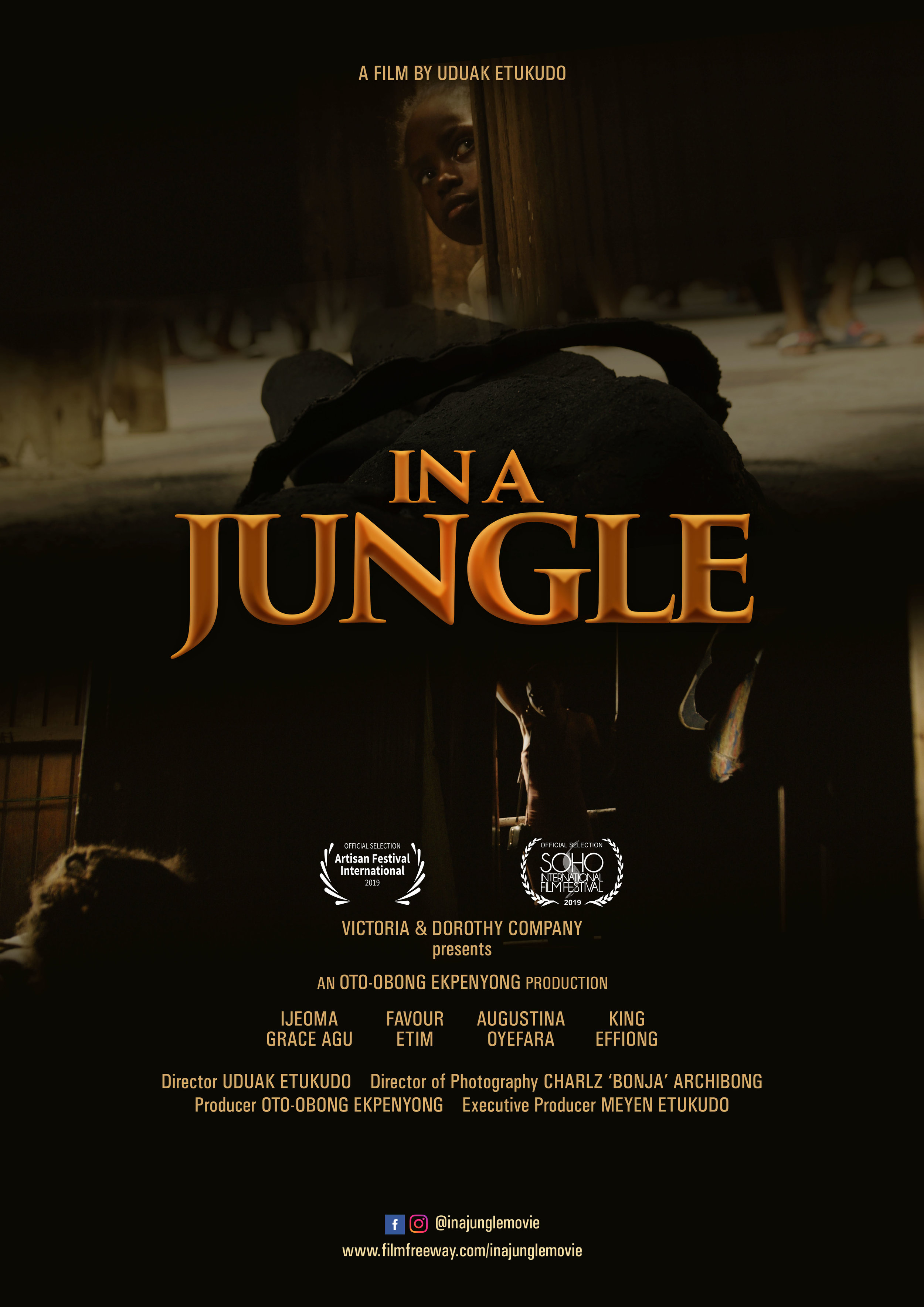 In a Jungle poster.JPG