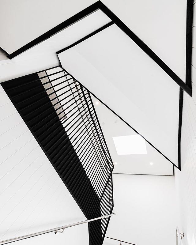 @pureconstructionmanagement  #architecturephotography #architecture #construction #stairs