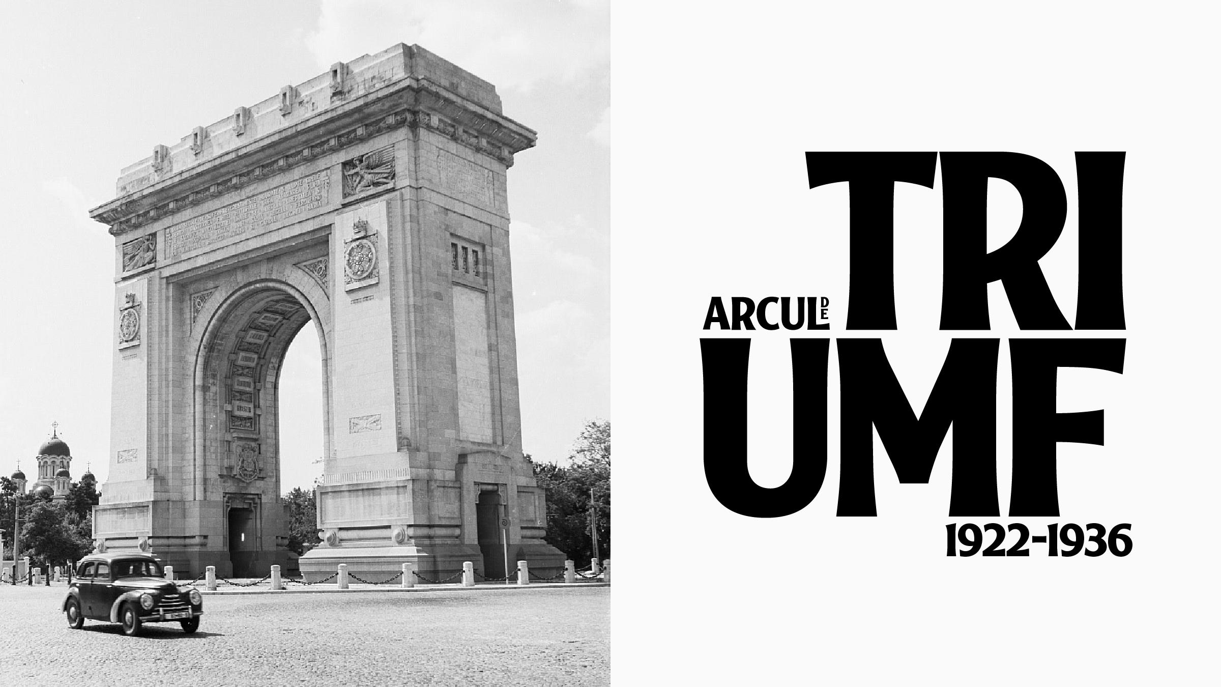 Arcul de Triumf, 1956. Foto: Peter Richard/deutschefotothek.de
