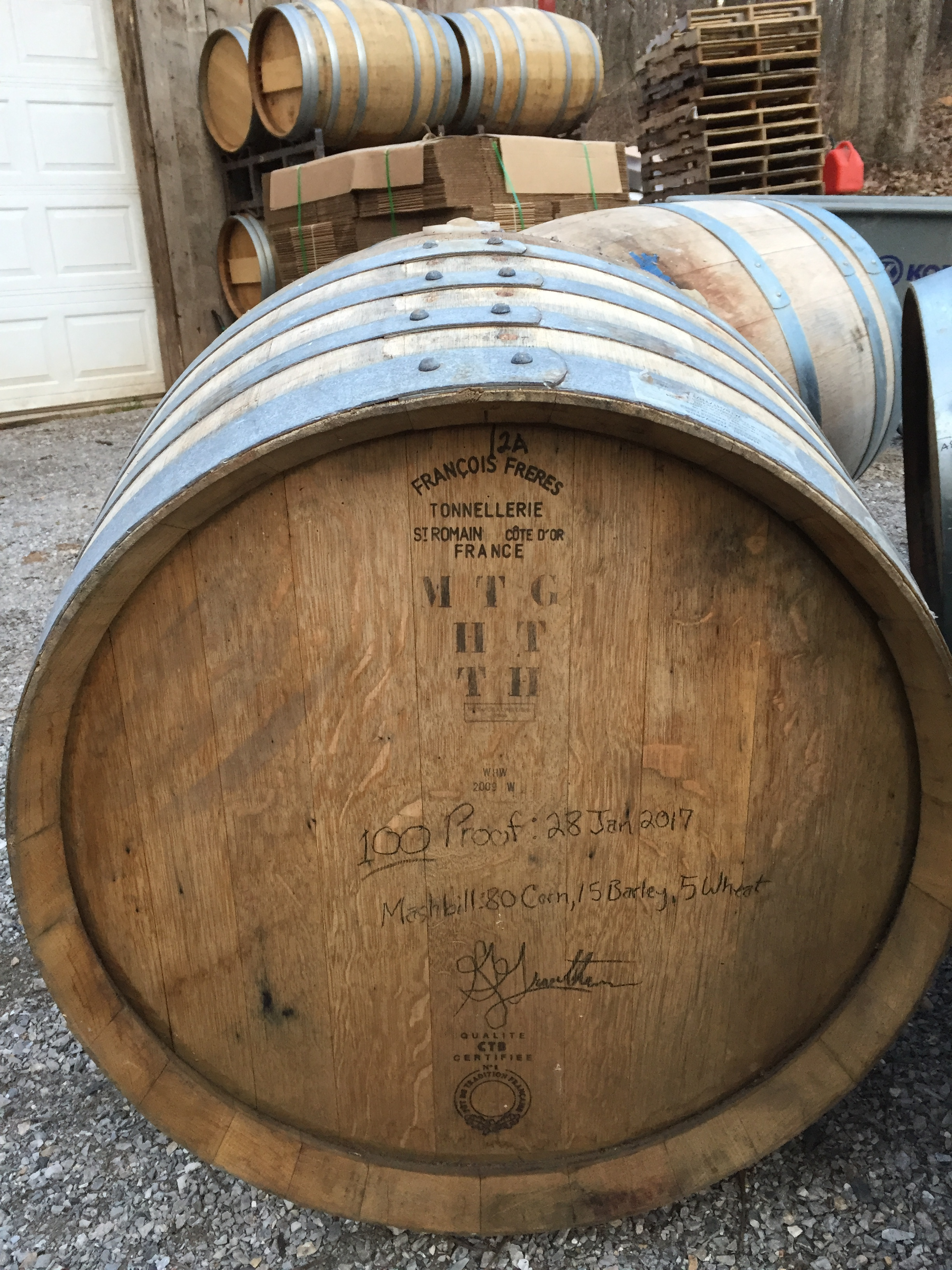 French Oak. It's not just for wine and brandy anymore