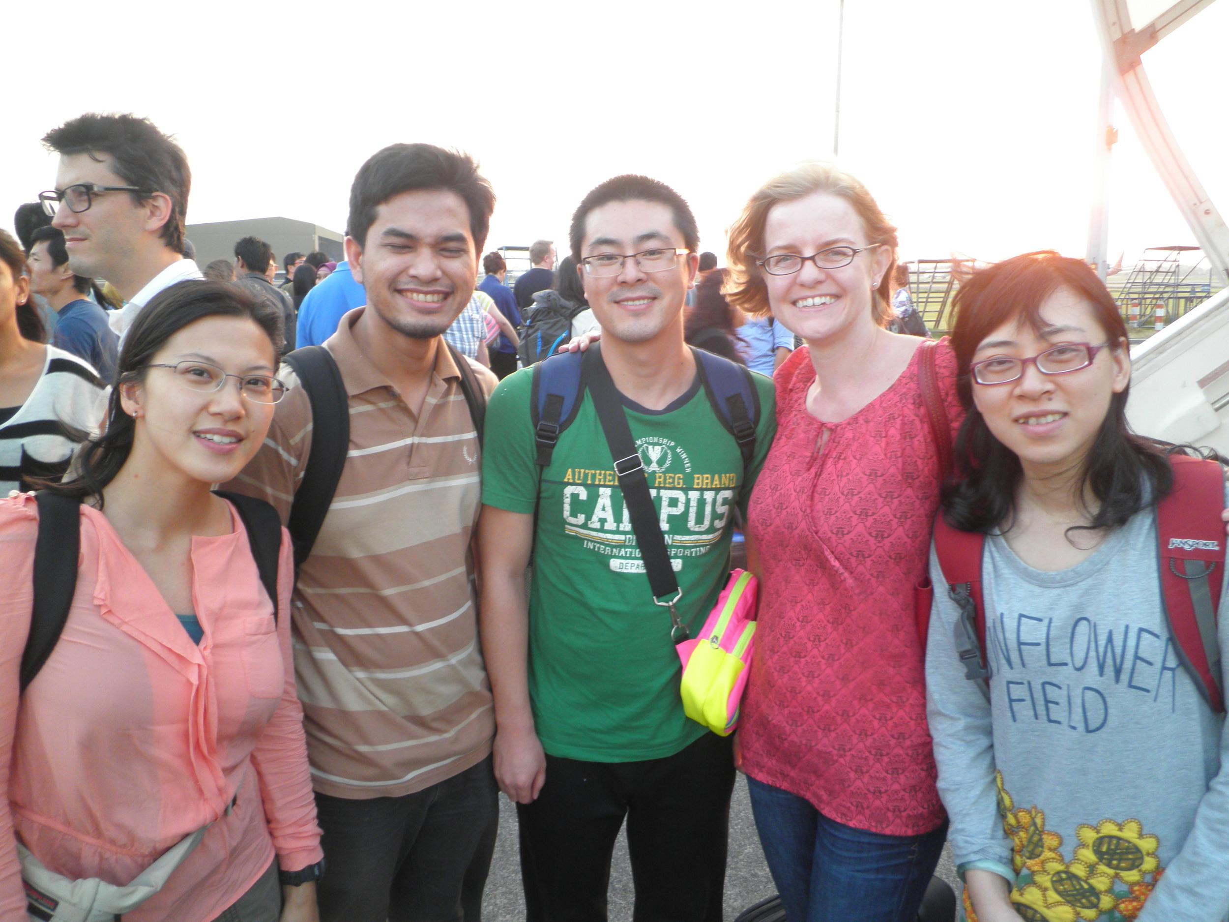 Group - Visiting Jakarta, Indonesia