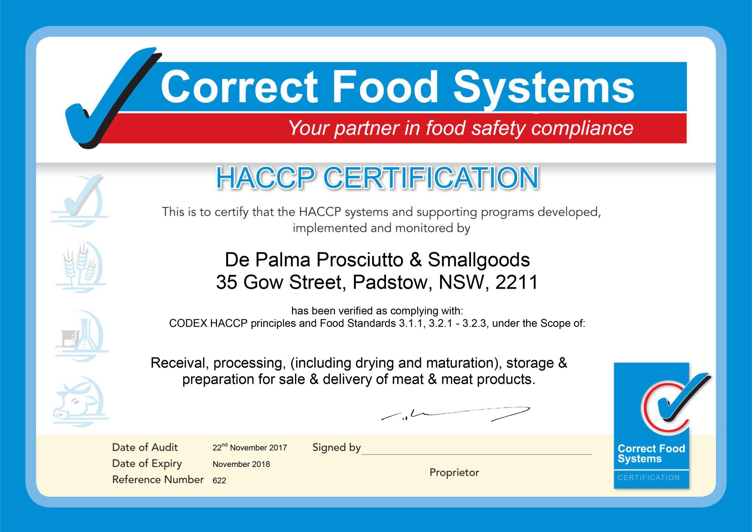 171122-De-Palma-Prosciutto-and-Smallgoods-certificate-2017-2018.jpg
