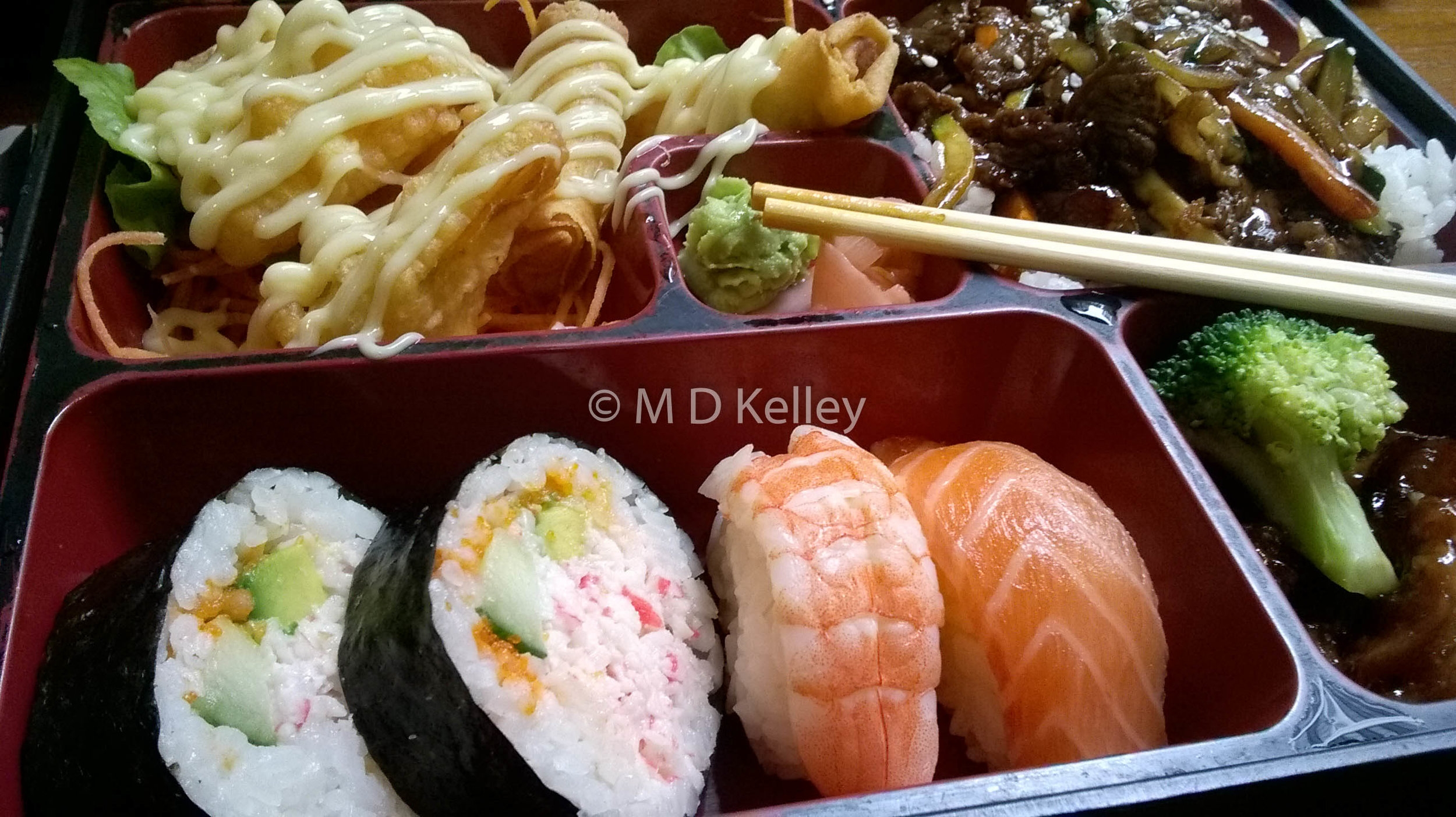 Get into my belly bento box!